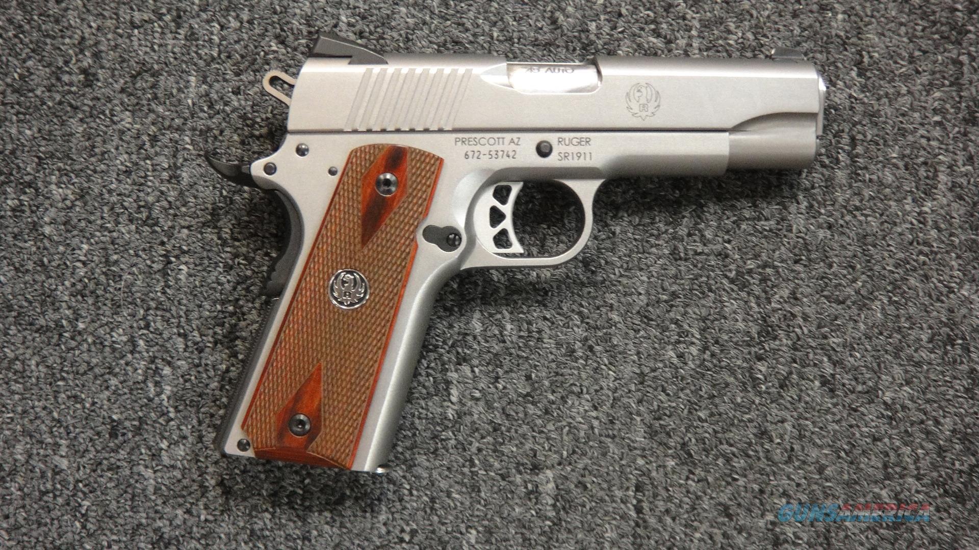 Ruger SR1911 Comander .45ACP  Guns > Pistols > Ruger Semi-Auto Pistols > 1911