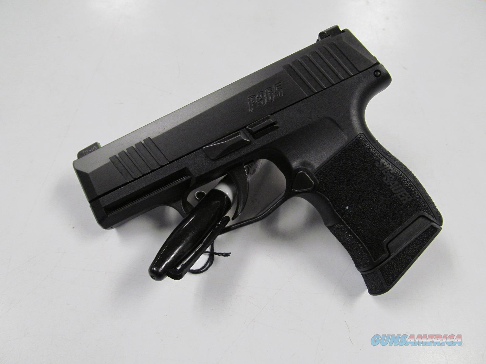 Sig Sauer P365 (365-9-BXR3)  Guns > Pistols > Sig - Sauer/Sigarms Pistols > P365