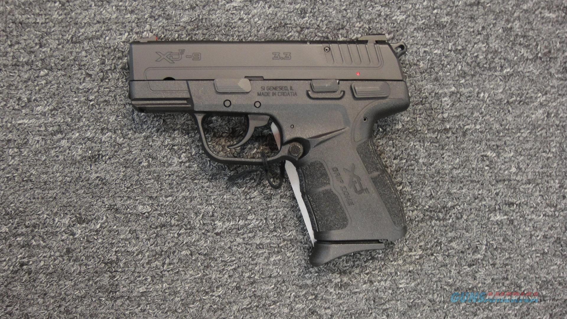 Springfield Armory XDE-9  Guns > Pistols > Springfield Armory Pistols > XD-E