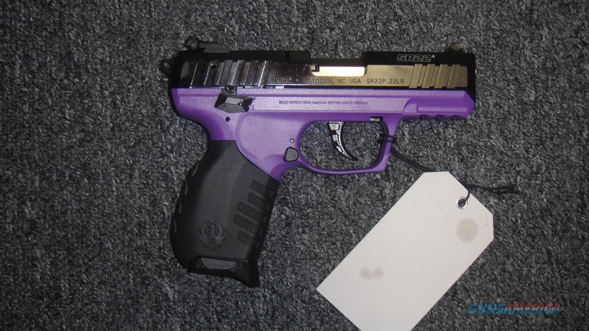 Ruger SR22 w/ Purple Frame  Guns > Pistols > Ruger Semi-Auto Pistols > SR Family > SR22