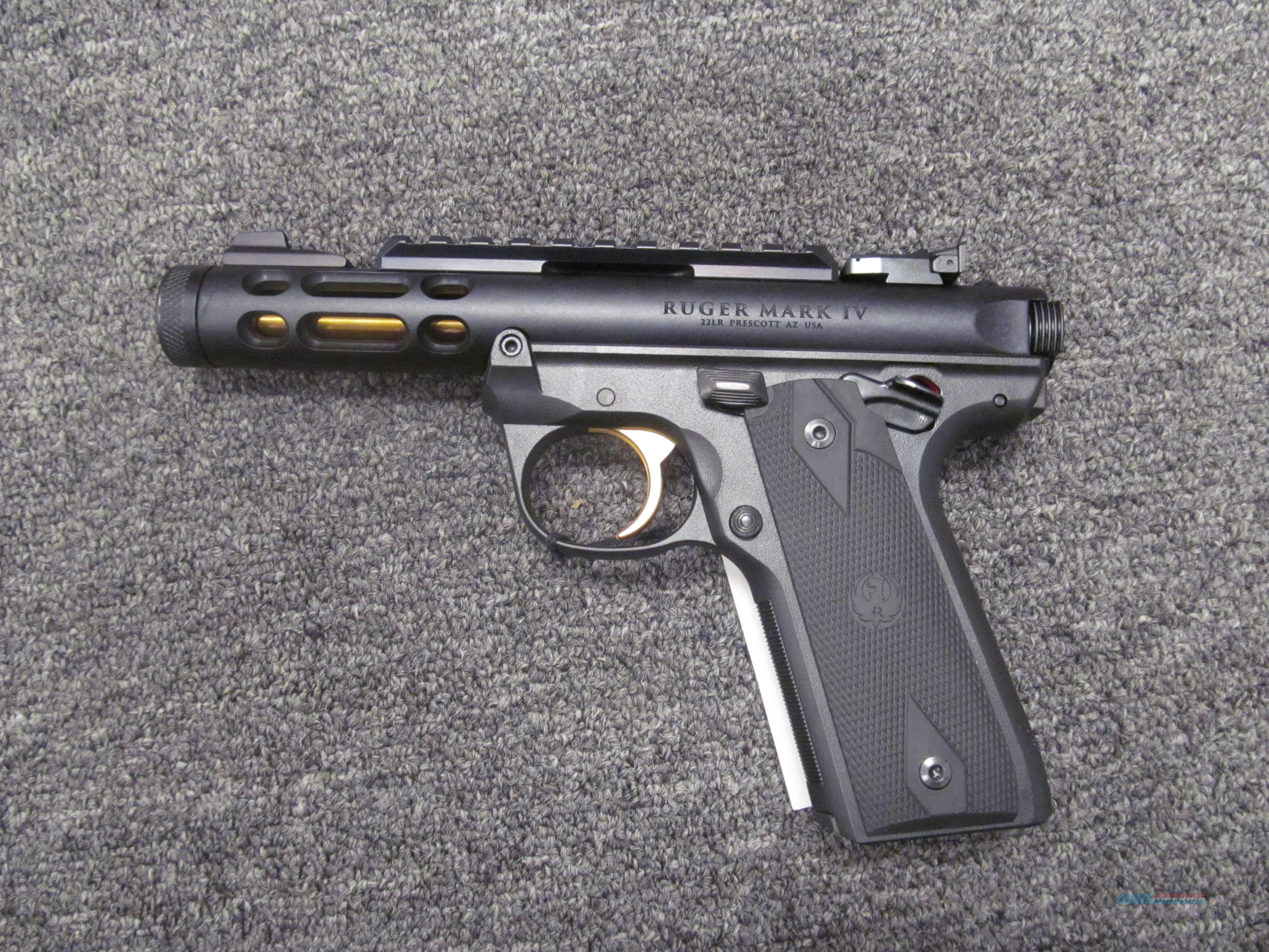 Ruger 22/45 Mark IV  Guns > Pistols > Ruger Semi-Auto Pistols > Mark I/II/III/IV Family