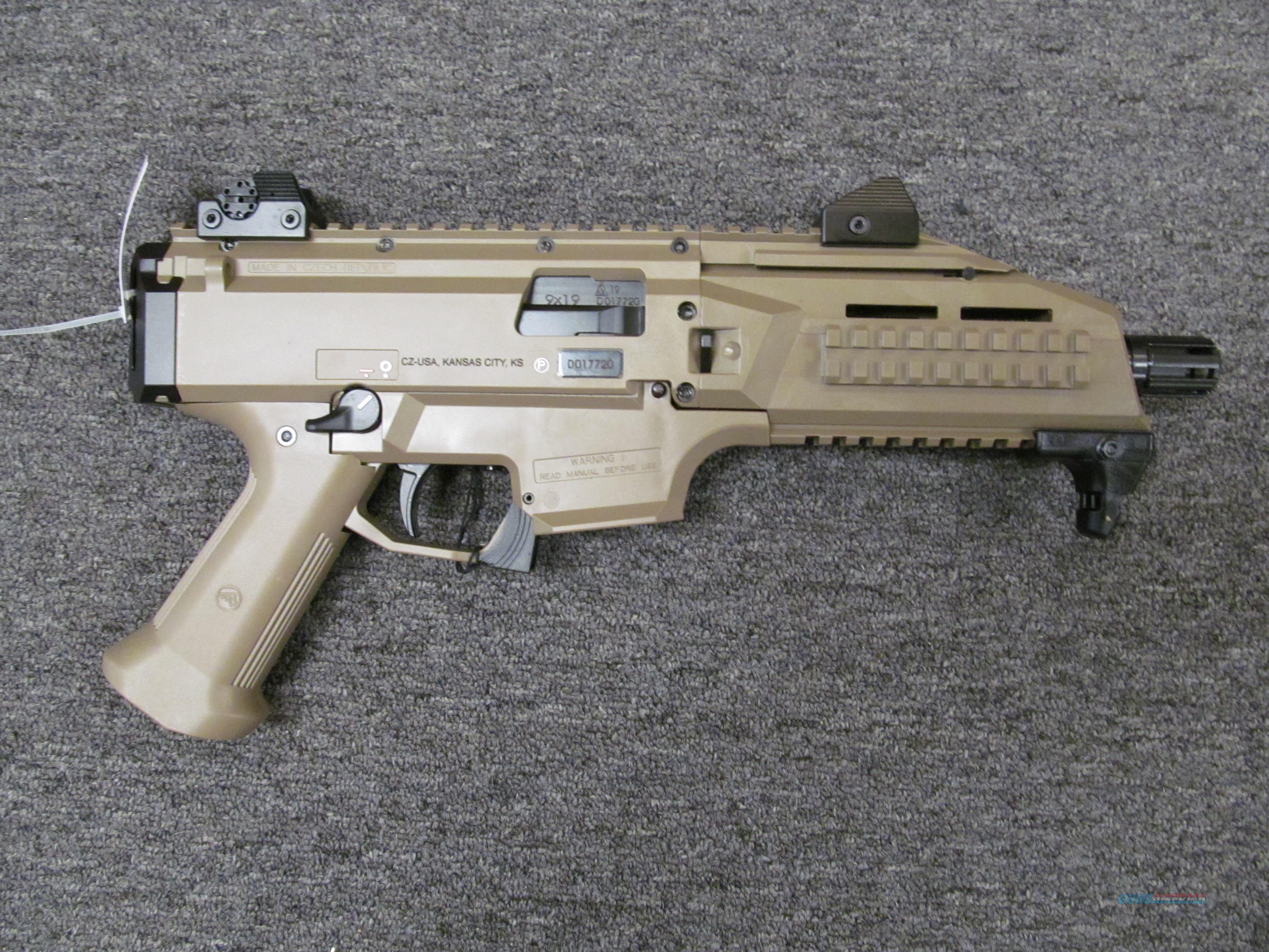 CZ Scorpion Evo 3 S1 (91352) w/FDE Finish  Guns > Pistols > CZ Pistols