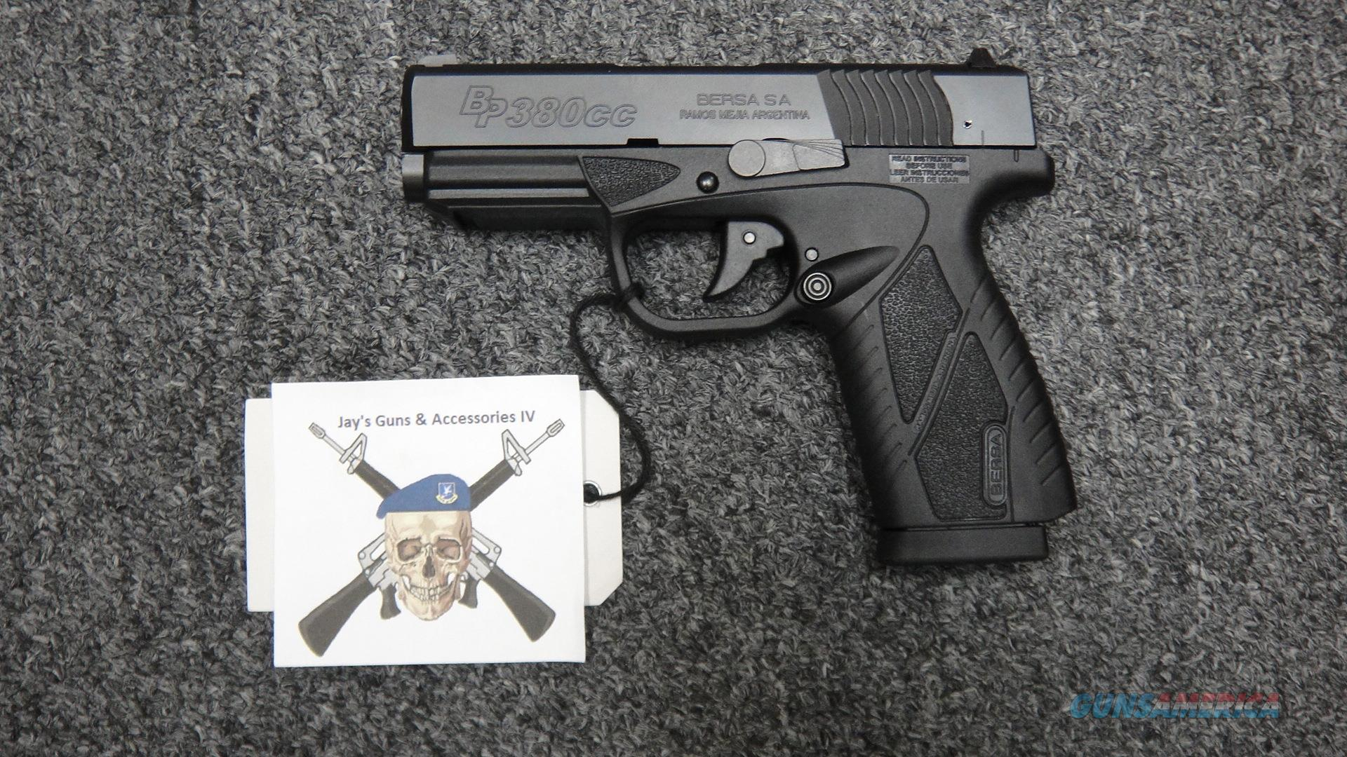 Bersa BP380CC .380ACP  Guns > Pistols > Bersa Pistols