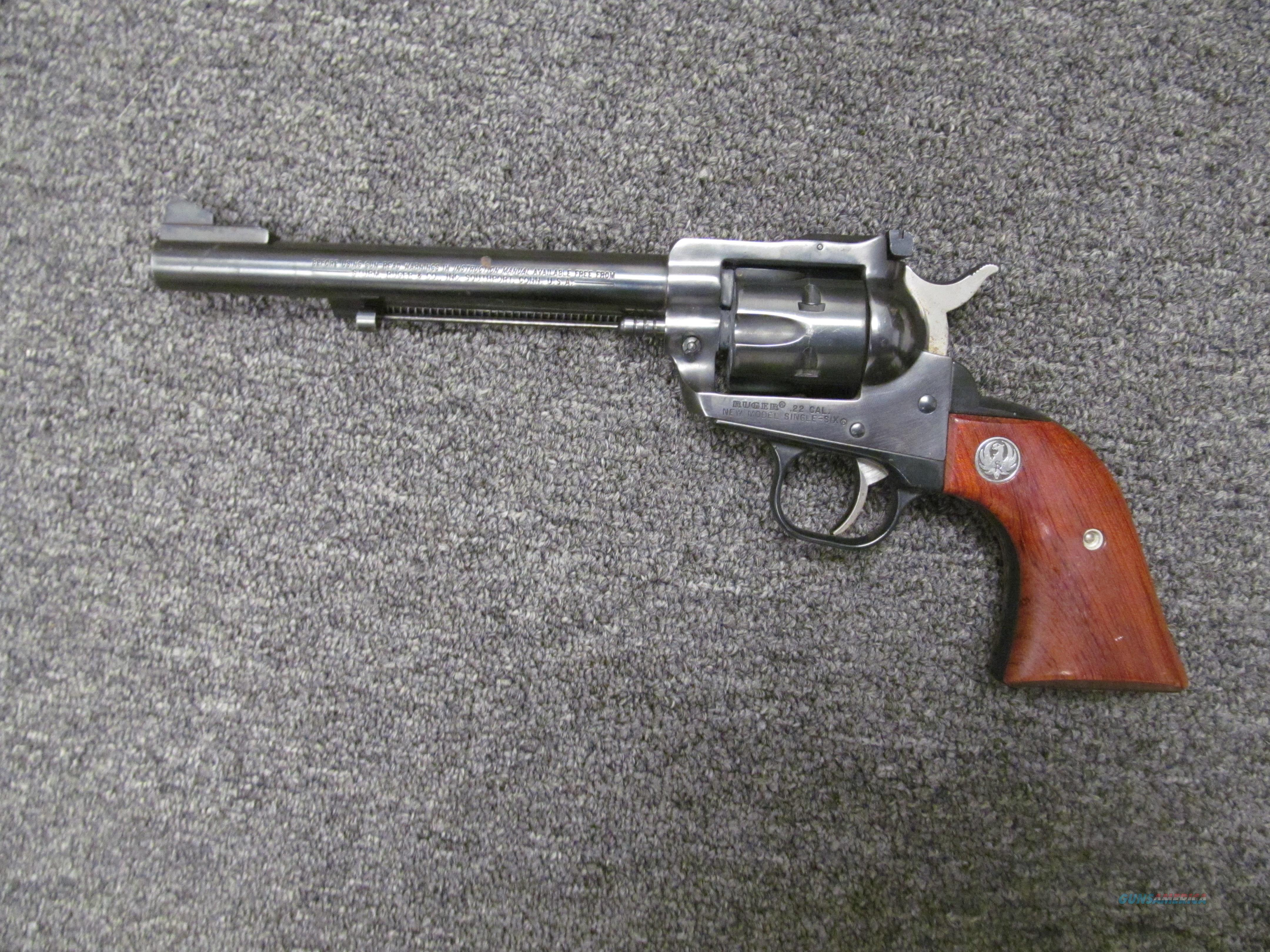 Ruger Single Six Convertible (Used)  Guns > Pistols > Ruger Single Action Revolvers > Single Six Type