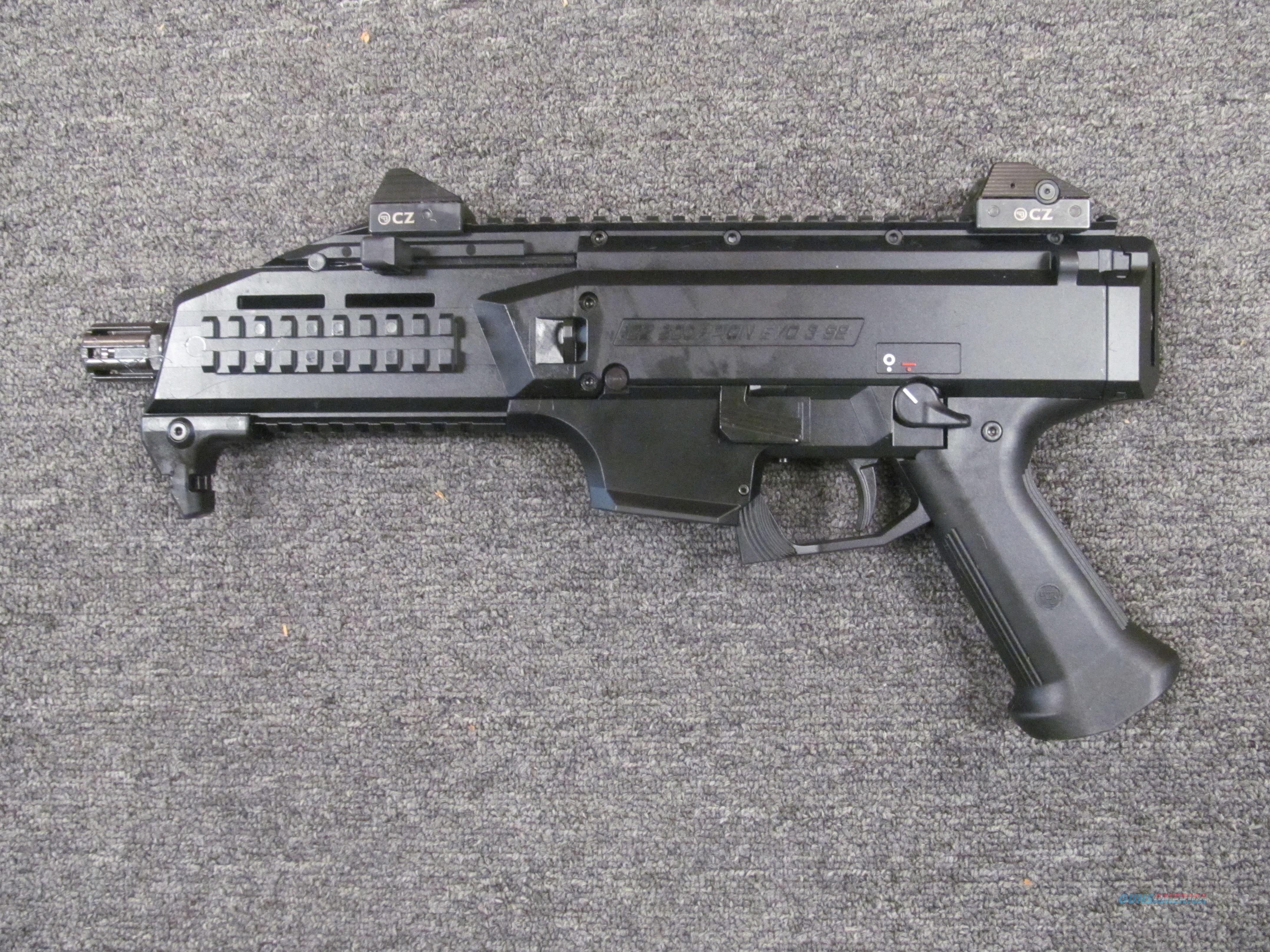 CZ Scorpion EVO 3 S1 (91351)  Guns > Pistols > CZ Pistols