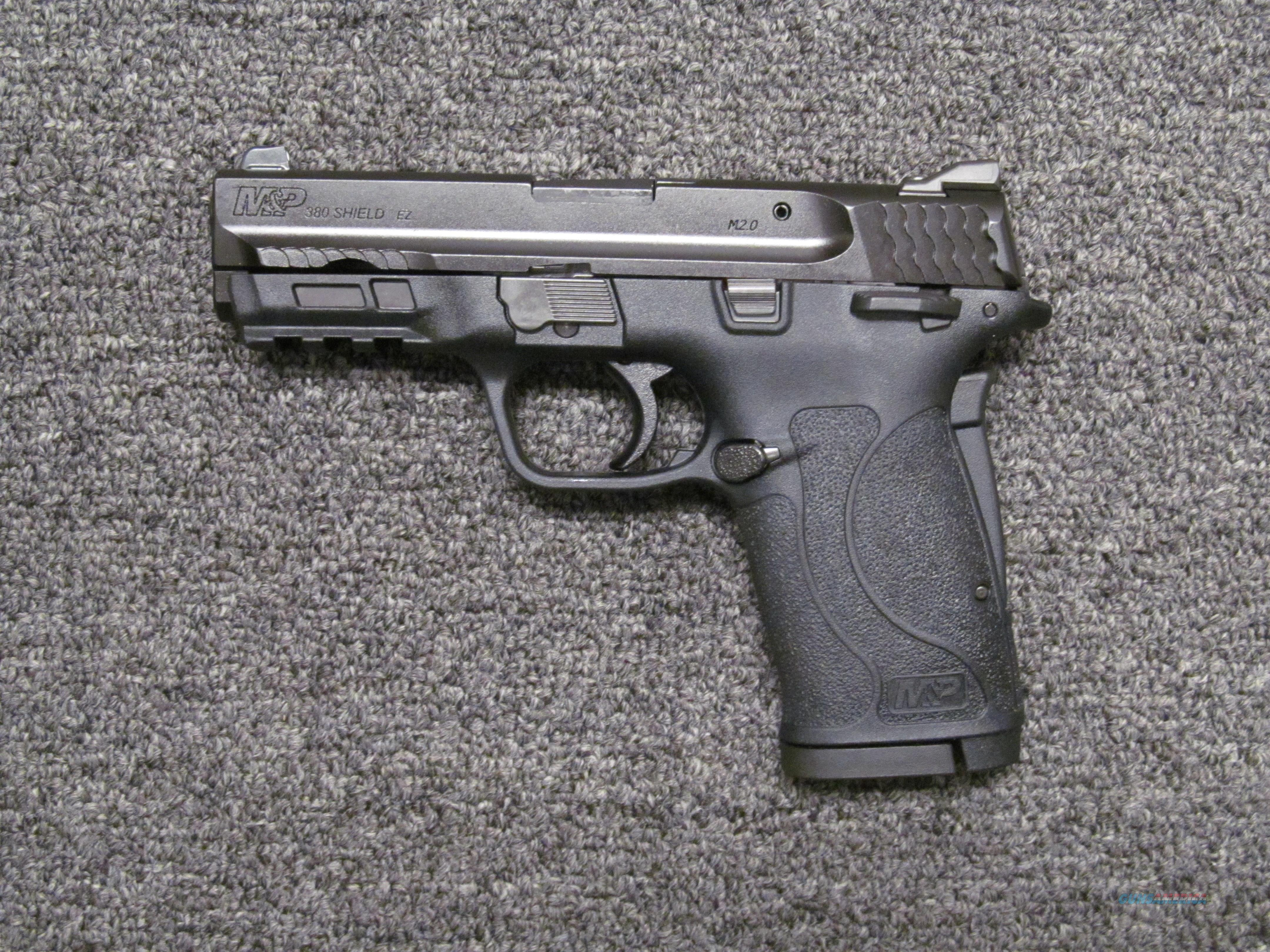 Smith & Wesson M&P Shield 380 EZ   Guns > Pistols > Smith & Wesson Pistols - Autos > Shield
