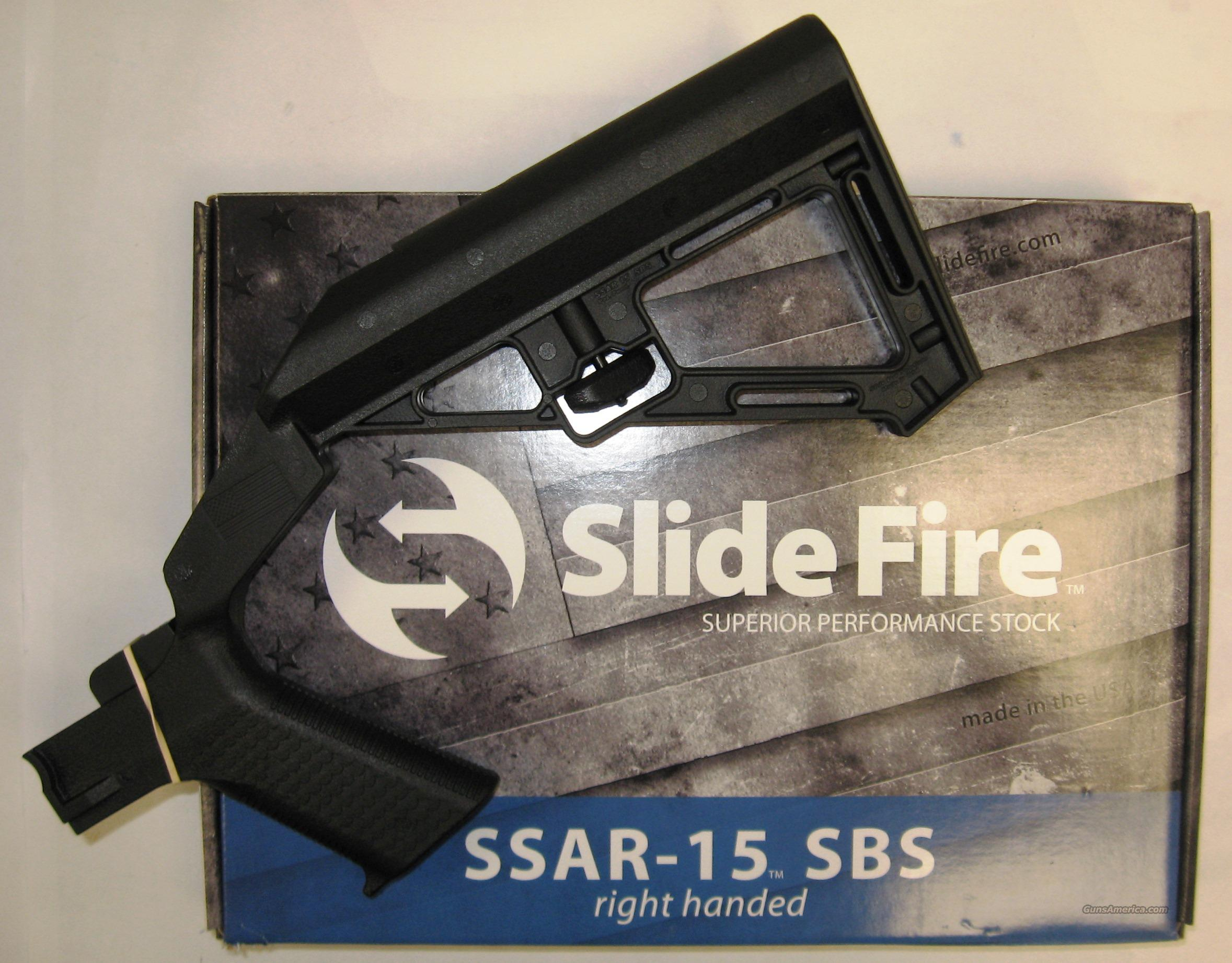 Slide Fire Solutions SSAR-15 SBS   Non-Guns > Gunstocks, Grips & Wood