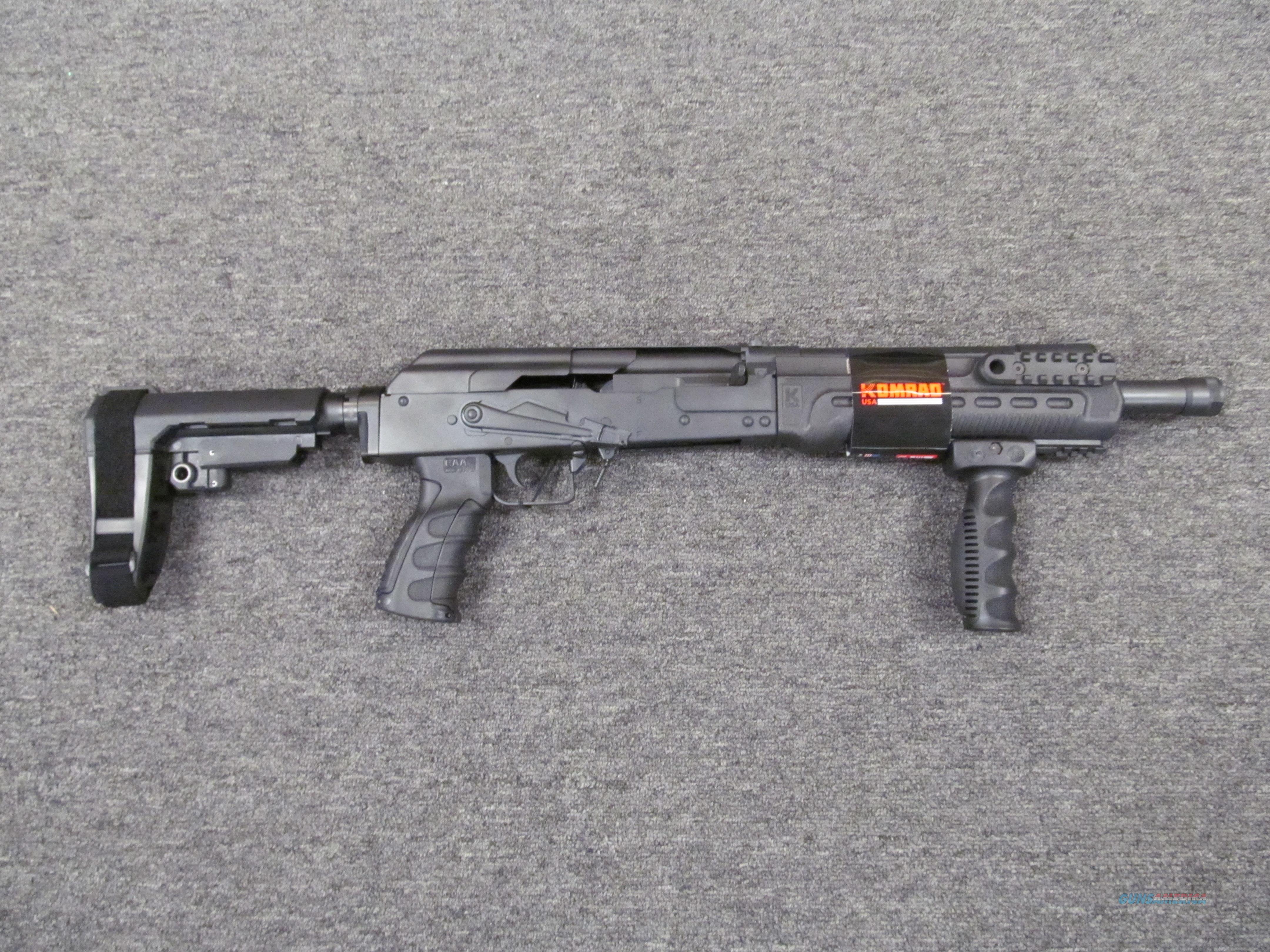 Kalashnikov USA KS-12 Komrad  Guns > Shotguns > Kalashnikov USA Shotguns