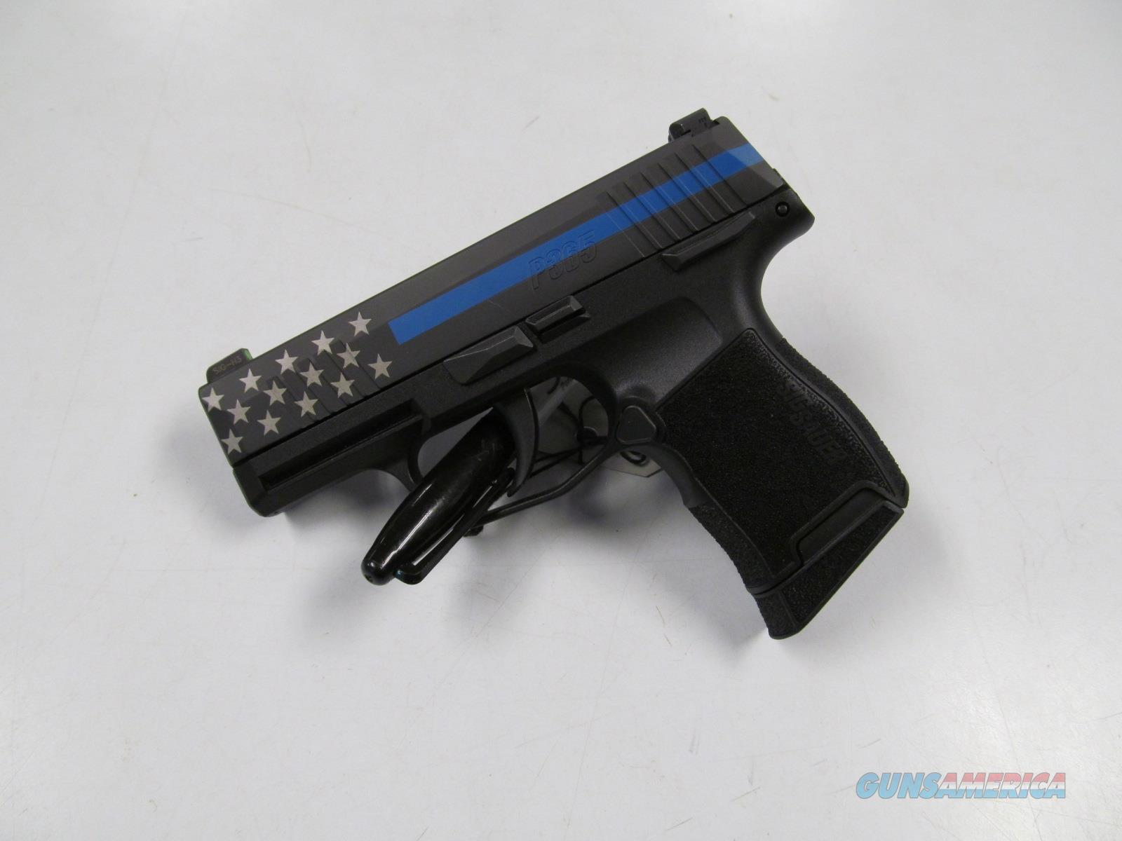 Sig Sauer P365 (SIG365-9-BXR3-MSBL)  Guns > Pistols > Sig - Sauer/Sigarms Pistols > P365