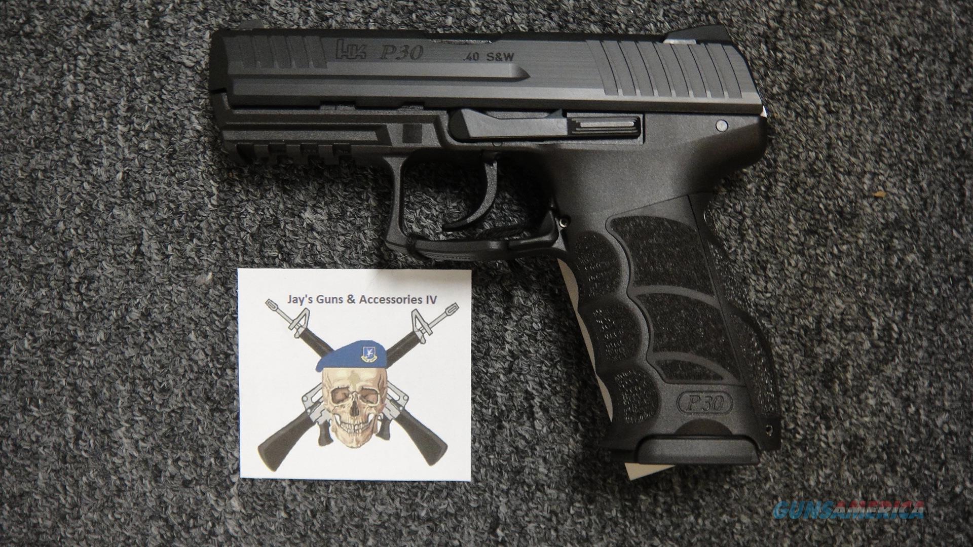 Heckler & Koch P30 .40 S&W  Guns > Pistols > Heckler & Koch Pistols > Polymer Frame