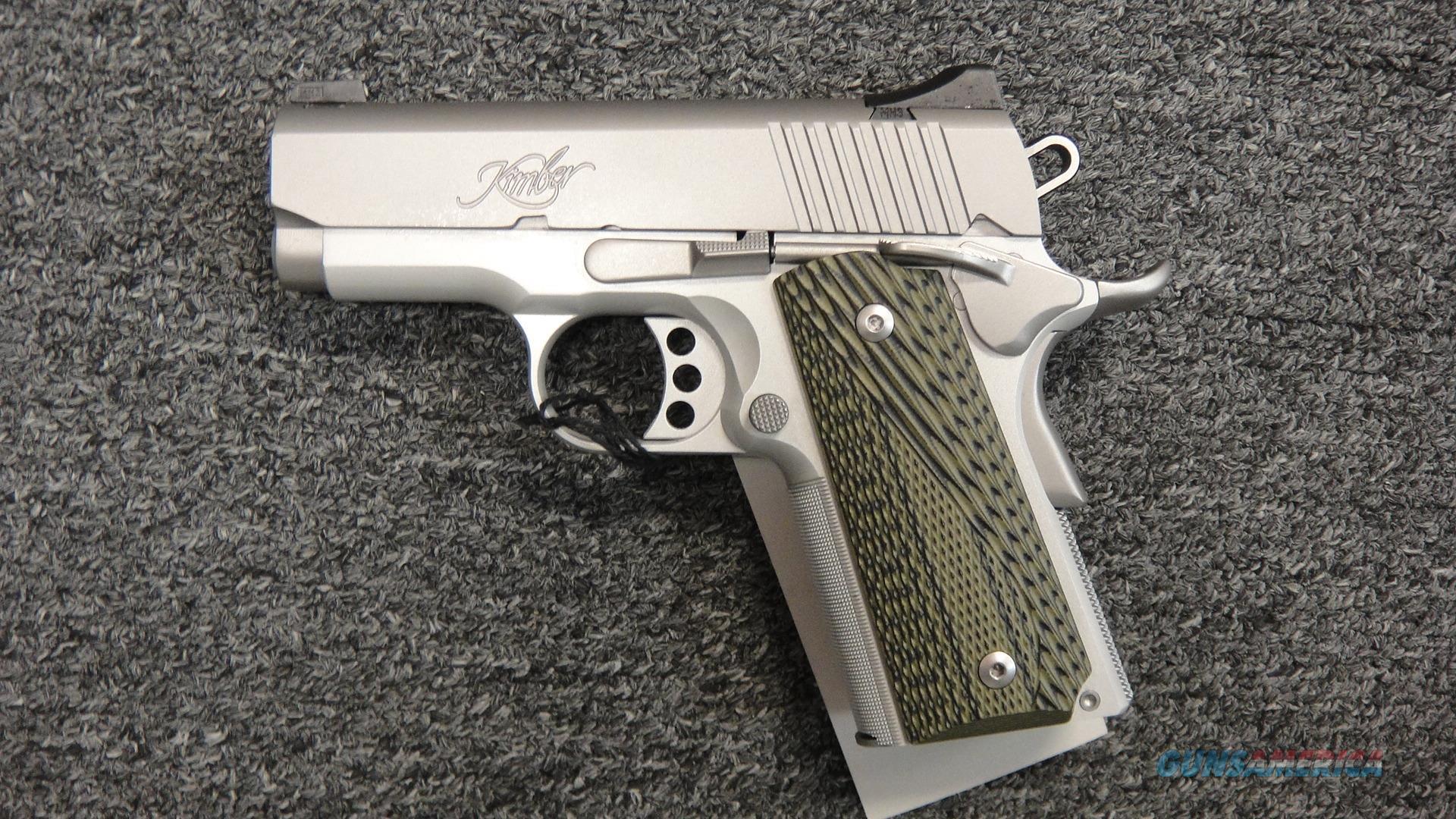 Kimber Stainless Ultra TLE II  Guns > Pistols > Kimber of America Pistols > 1911