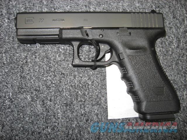Glock 22 .40S&W  Guns > Pistols > Glock Pistols > 22