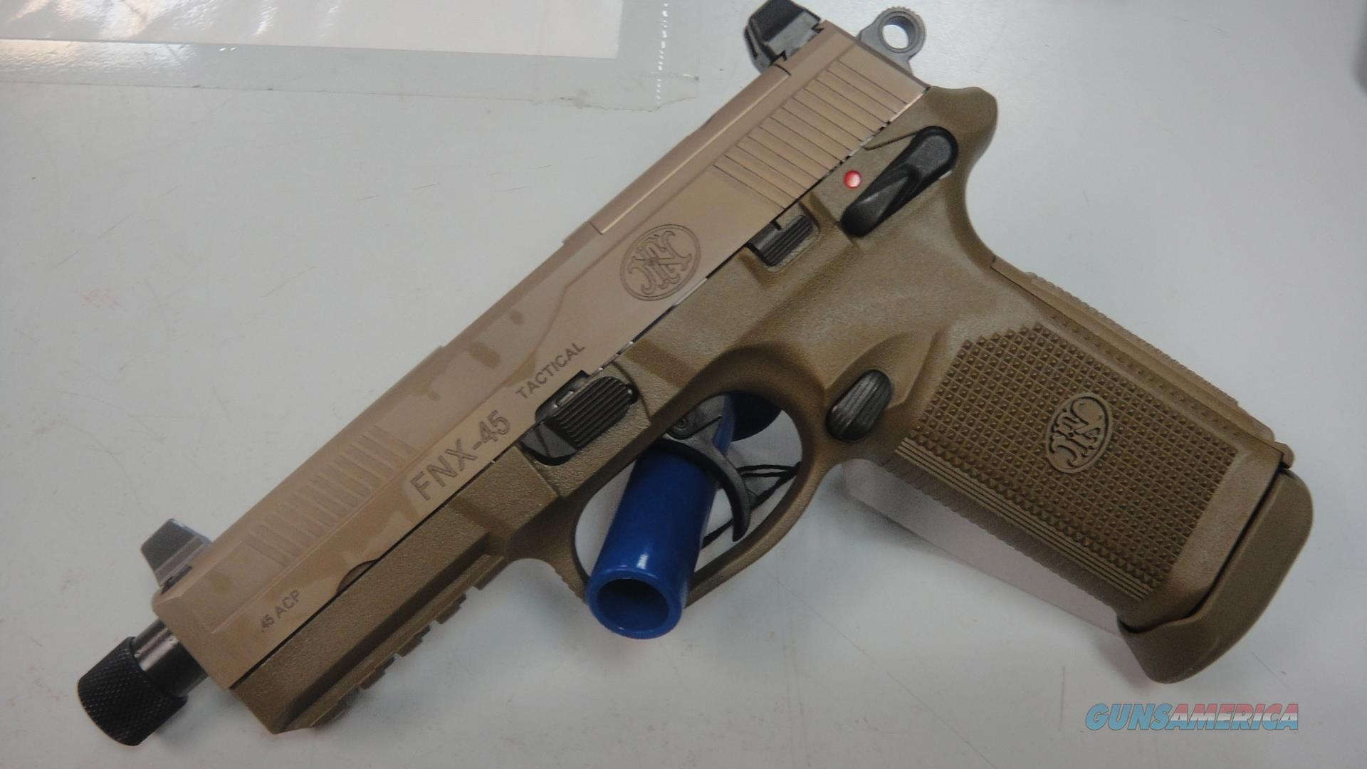 FNH FNX-45 Tactical (used)  Guns > Pistols > FNH - Fabrique Nationale (FN) Pistols > FNX