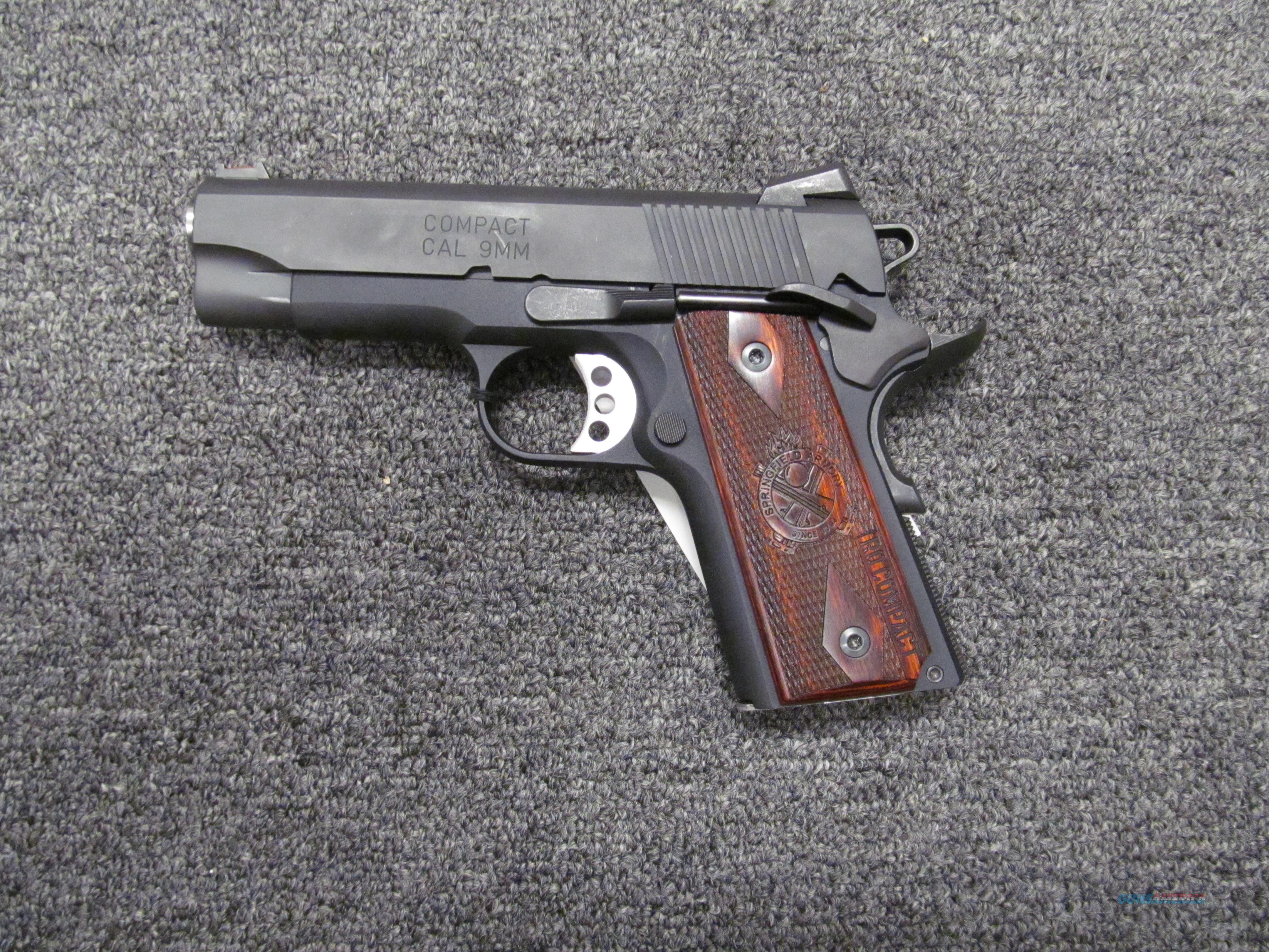 Springfield Armory 1911 Range Officer Compact 9mm  Guns > Pistols > Springfield Armory Pistols > 1911 Type