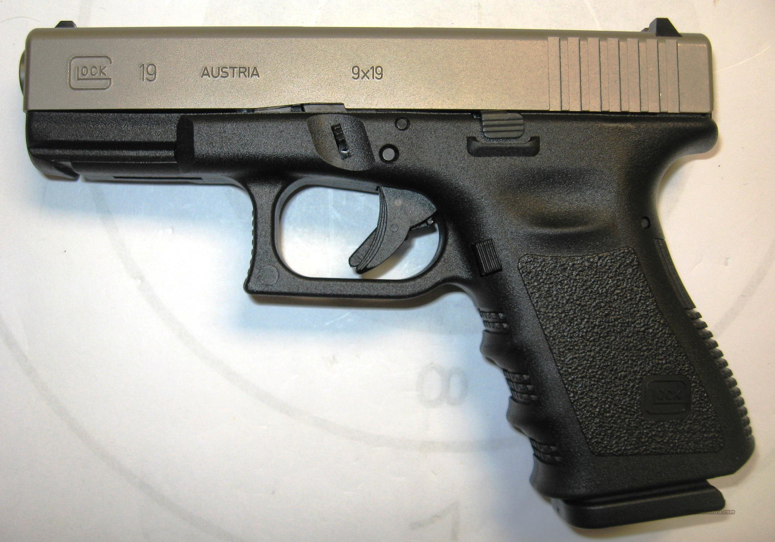 Glock 19 Two Tone For Sale
