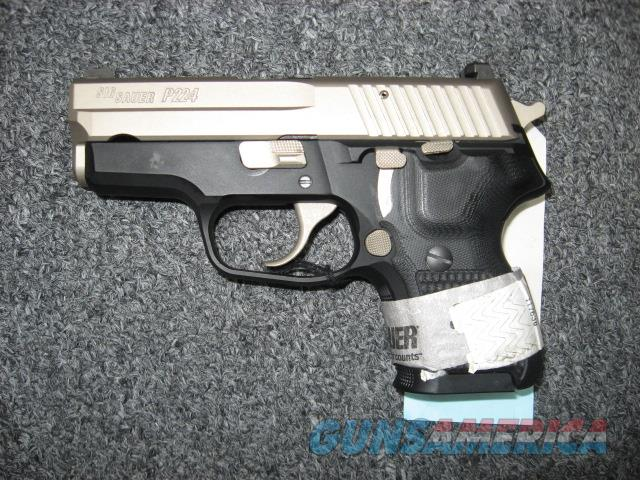 Sig Sauer P224 .40S&W Nickel Slide w/ Night Sights  Guns > Pistols > Sig - Sauer/Sigarms Pistols > Other