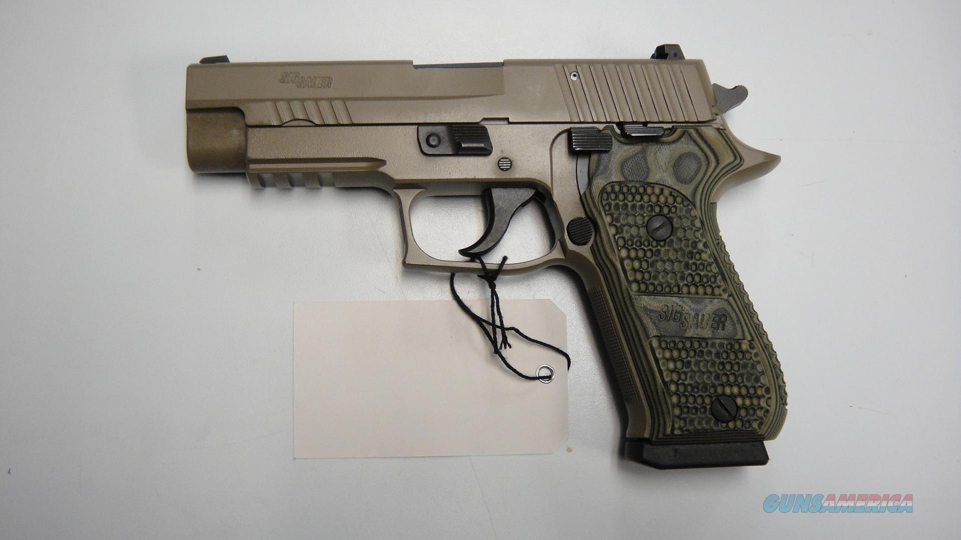 Sig Sauer P220 Elite Scorpion in FDE .45acp (USED)  Guns > Pistols > Sig - Sauer/Sigarms Pistols > P220