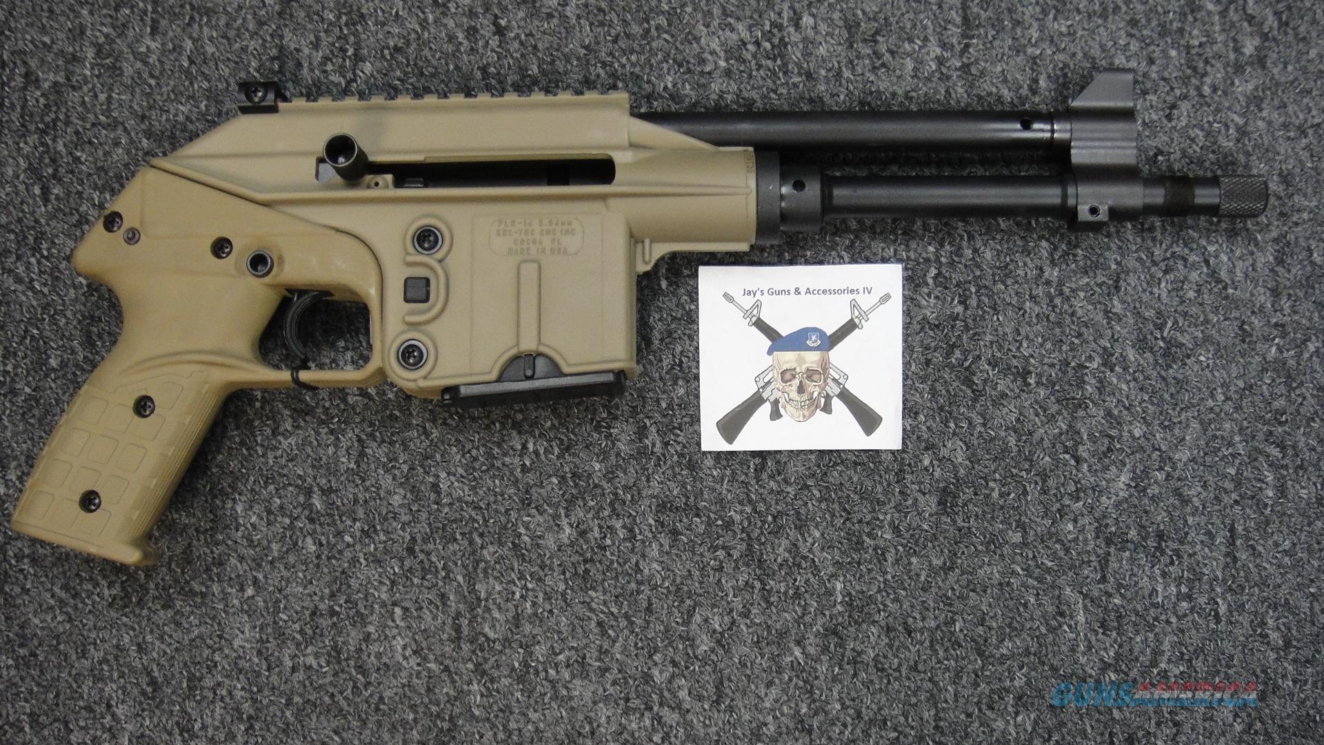 Kel-Tec PLR-16 w/FDE Finish  Guns > Pistols > Kel-Tec Pistols > .223 Type