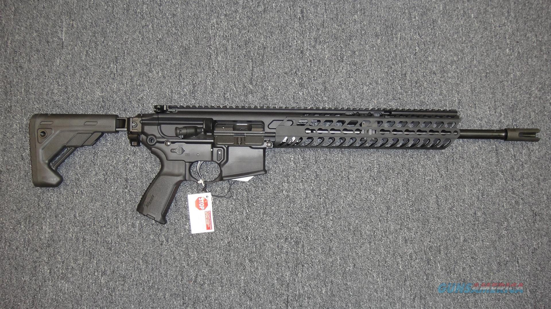 Sig Sauer MCX (RMCX-300B-16B-TELE-P) .300BLK  Guns > Rifles > Sig - Sauer/Sigarms Rifles