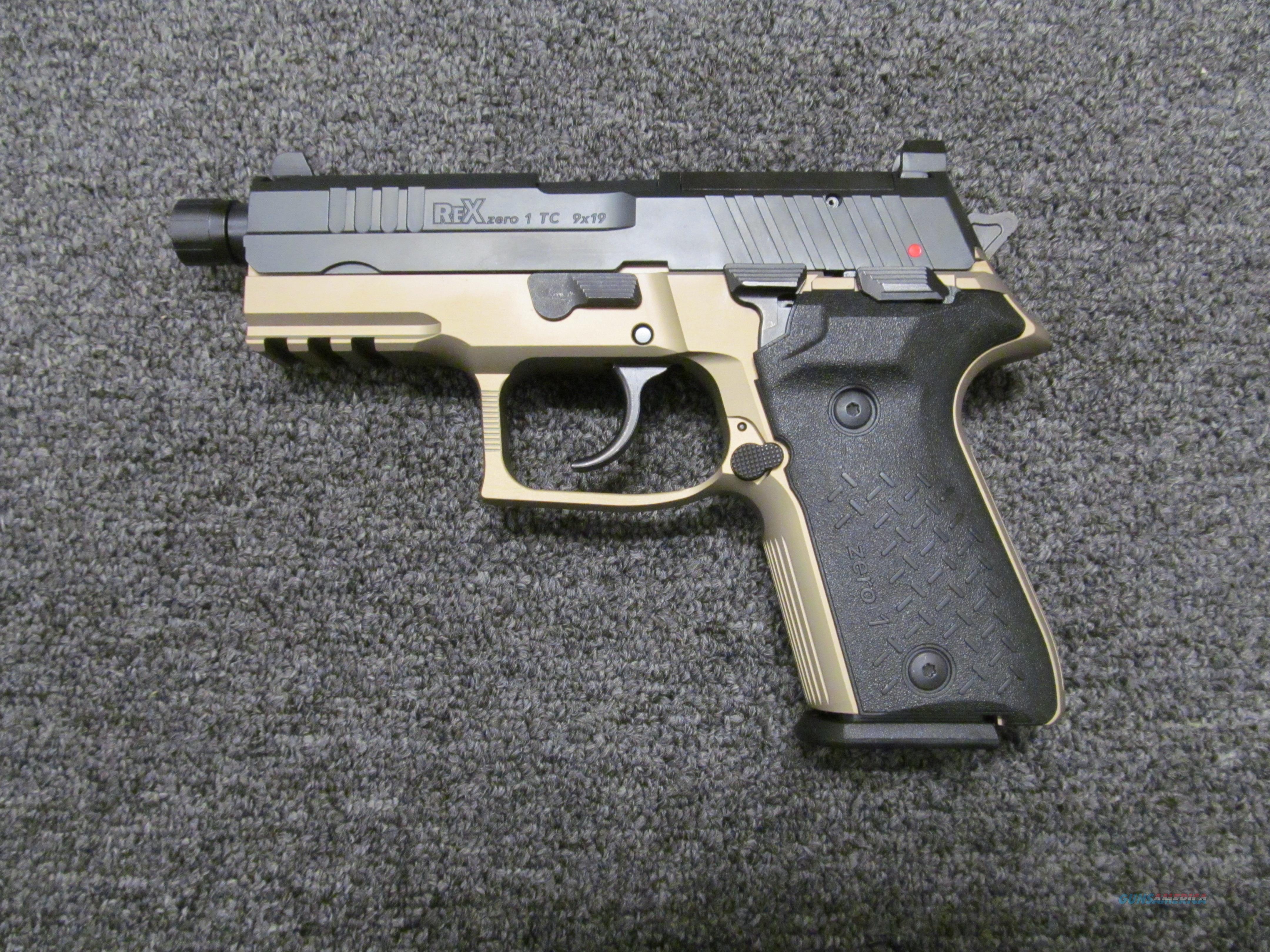 Arex/Fime Group Rex Zero 1TC 9mm Compact  Guns > Pistols > FIME Group Pistols > Rex Zero 1