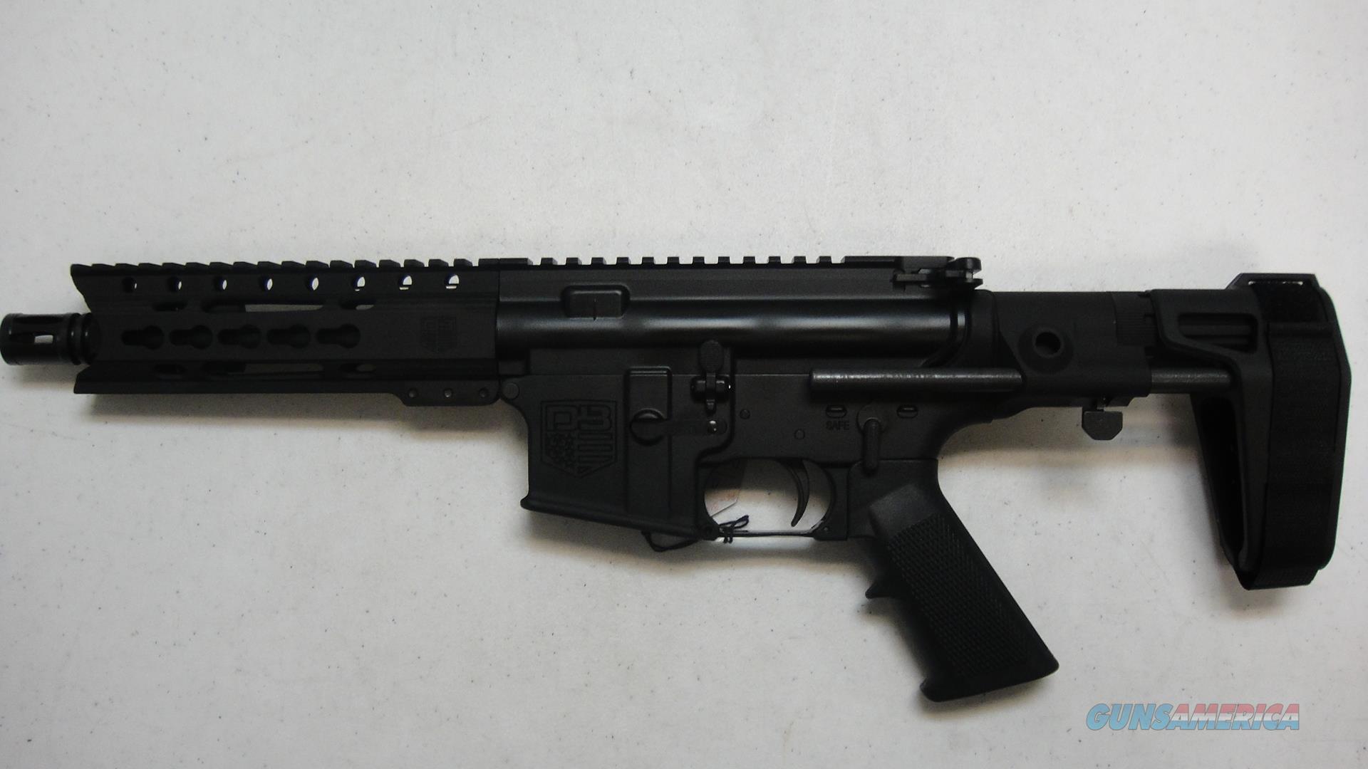 Diamondback DB15 pistol w/ Arm Brace  Guns > Pistols > Diamondback Pistols