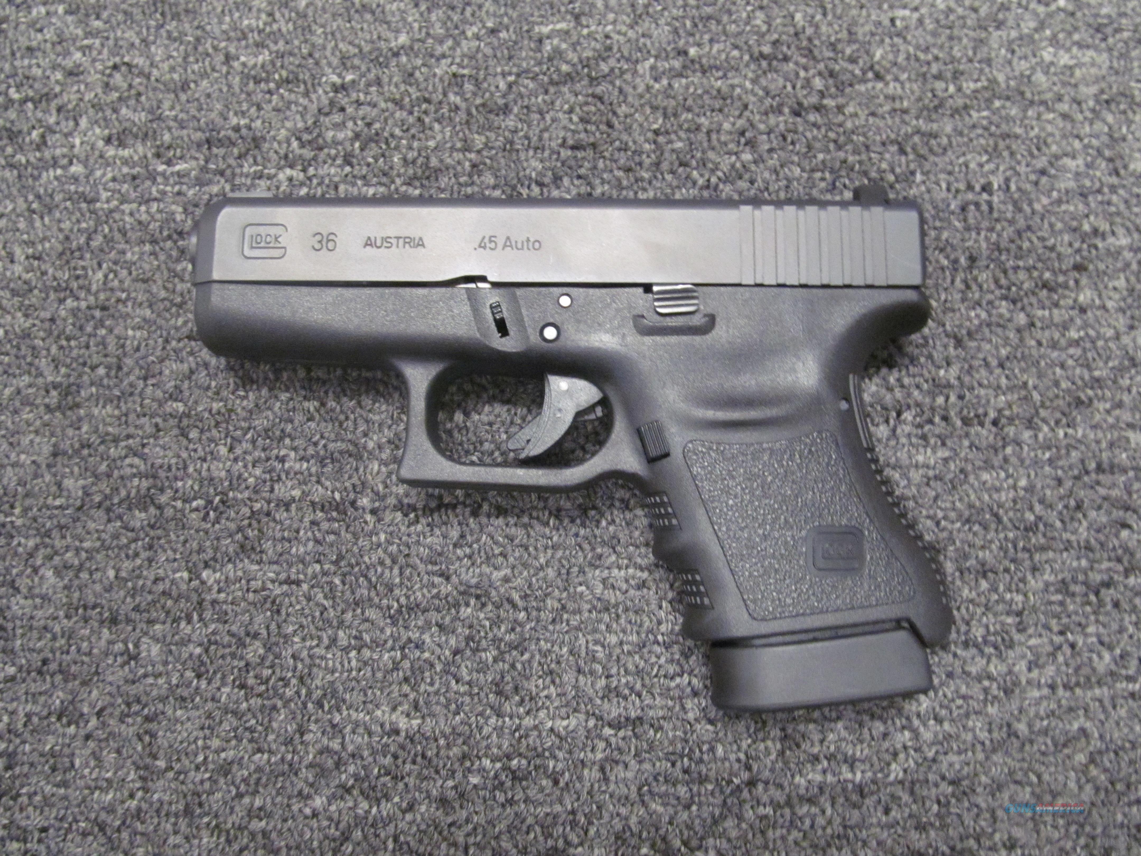 Glock 36 (Used)  Guns > Pistols > Glock Pistols > 29/30/36