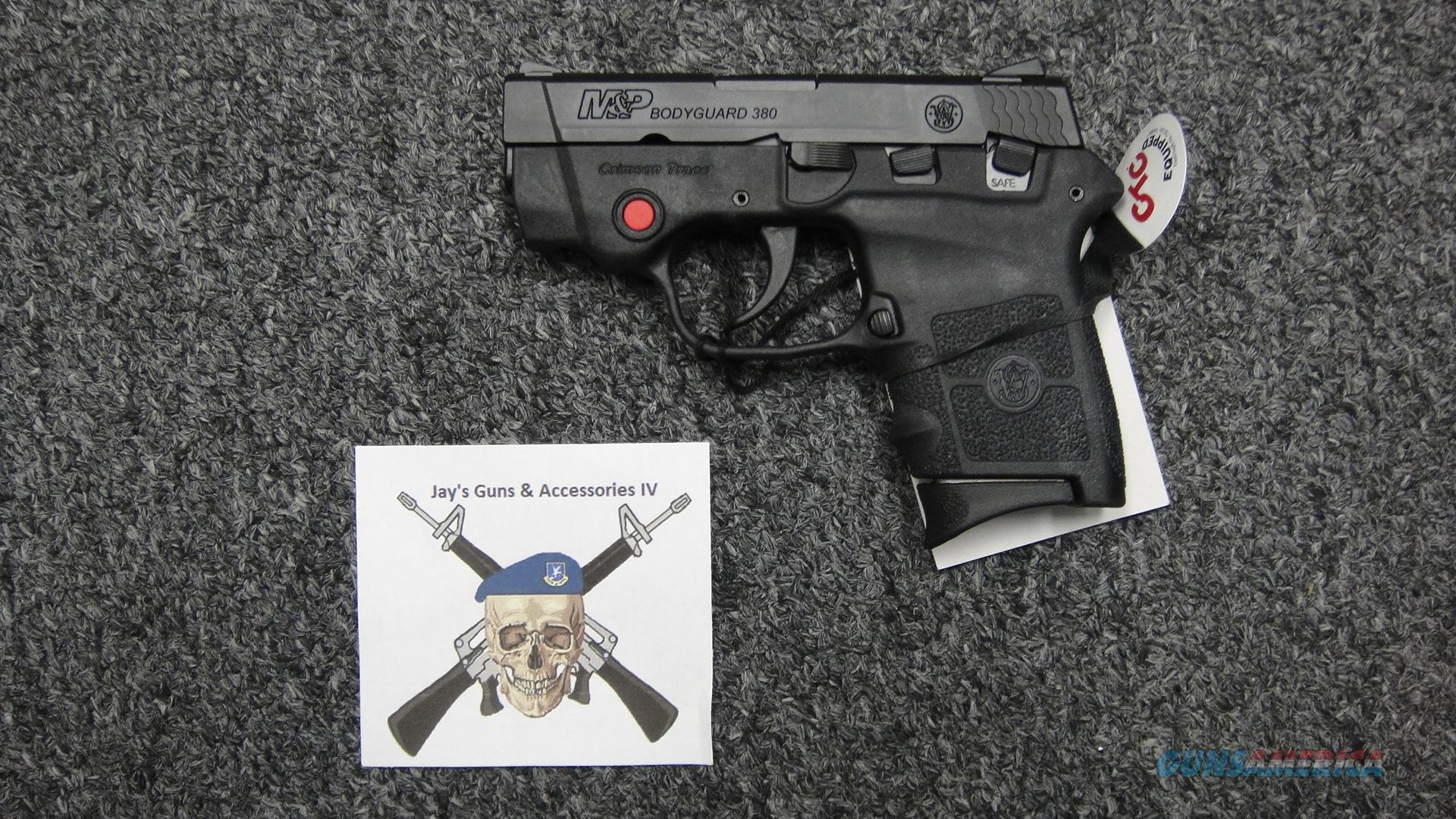 Smith & Wesson M&P Bodyguard 380 w/ Crimson Trace Red Laser  Guns > Pistols > Smith & Wesson Pistols - Autos > Polymer Frame