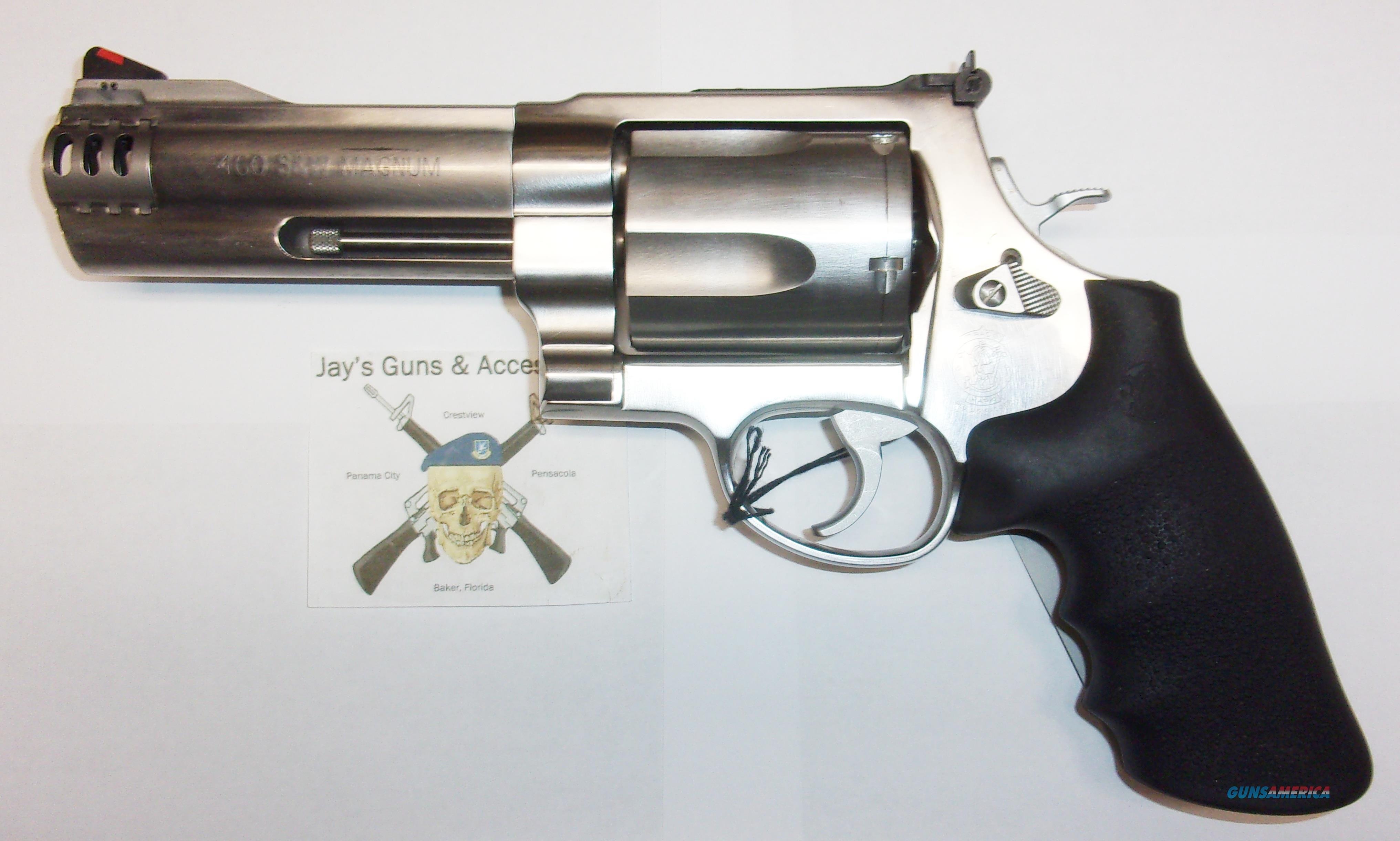 Smith & Wesson 460 XVR  Guns > Pistols > Smith & Wesson Revolvers > Full Frame Revolver