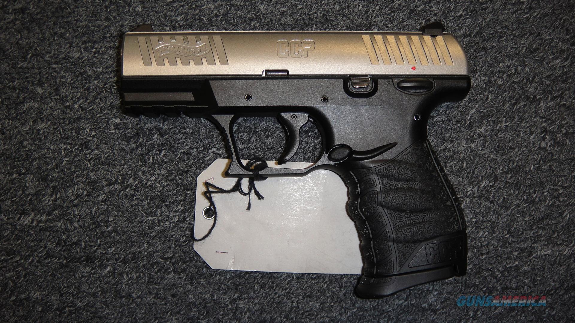 Walther CCP Stainless  Guns > Pistols > Walther Pistols > Post WWII > CCP