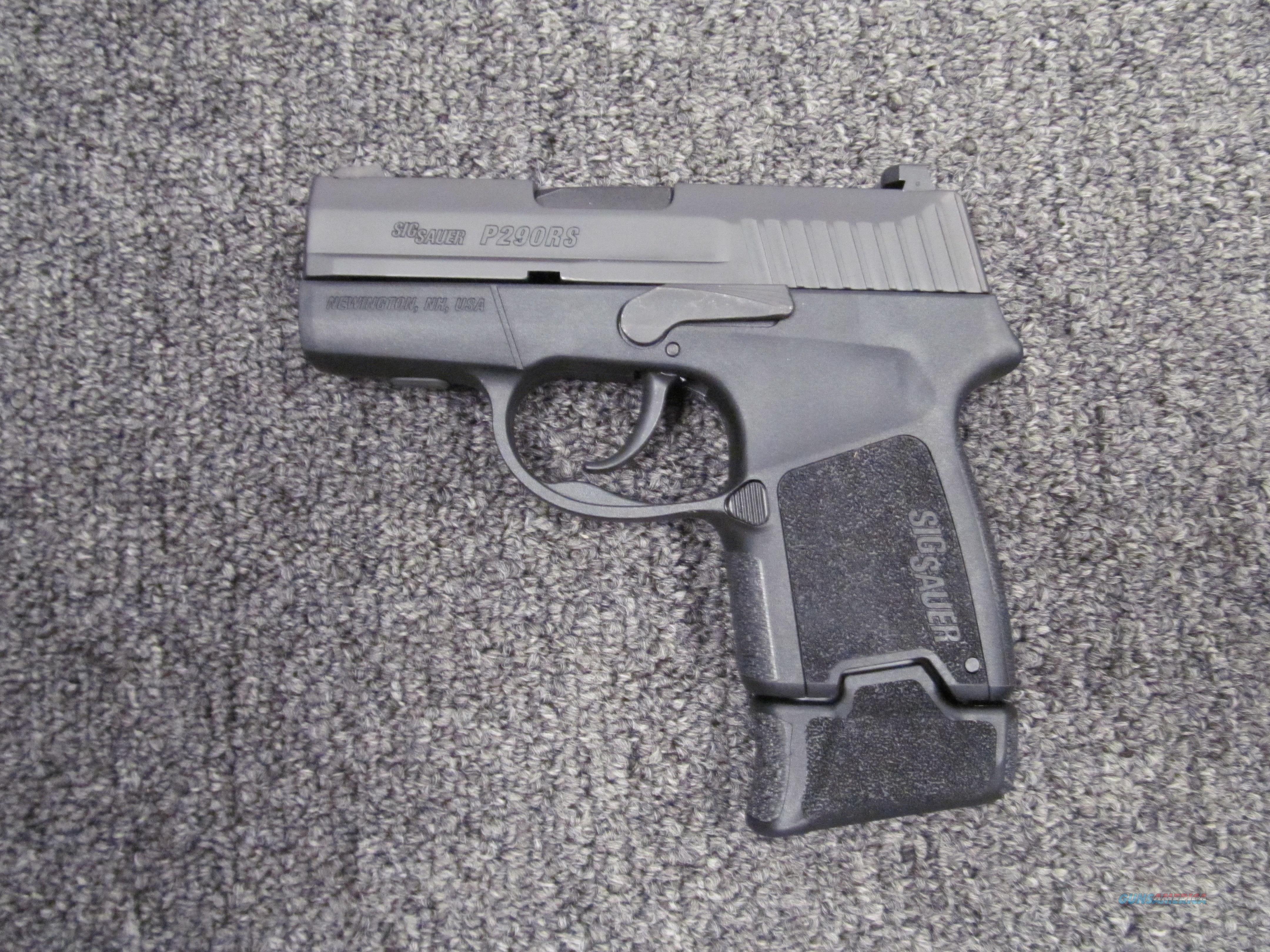 Sig Sauer P290 RS  Guns > Pistols > Sig - Sauer/Sigarms Pistols > P290