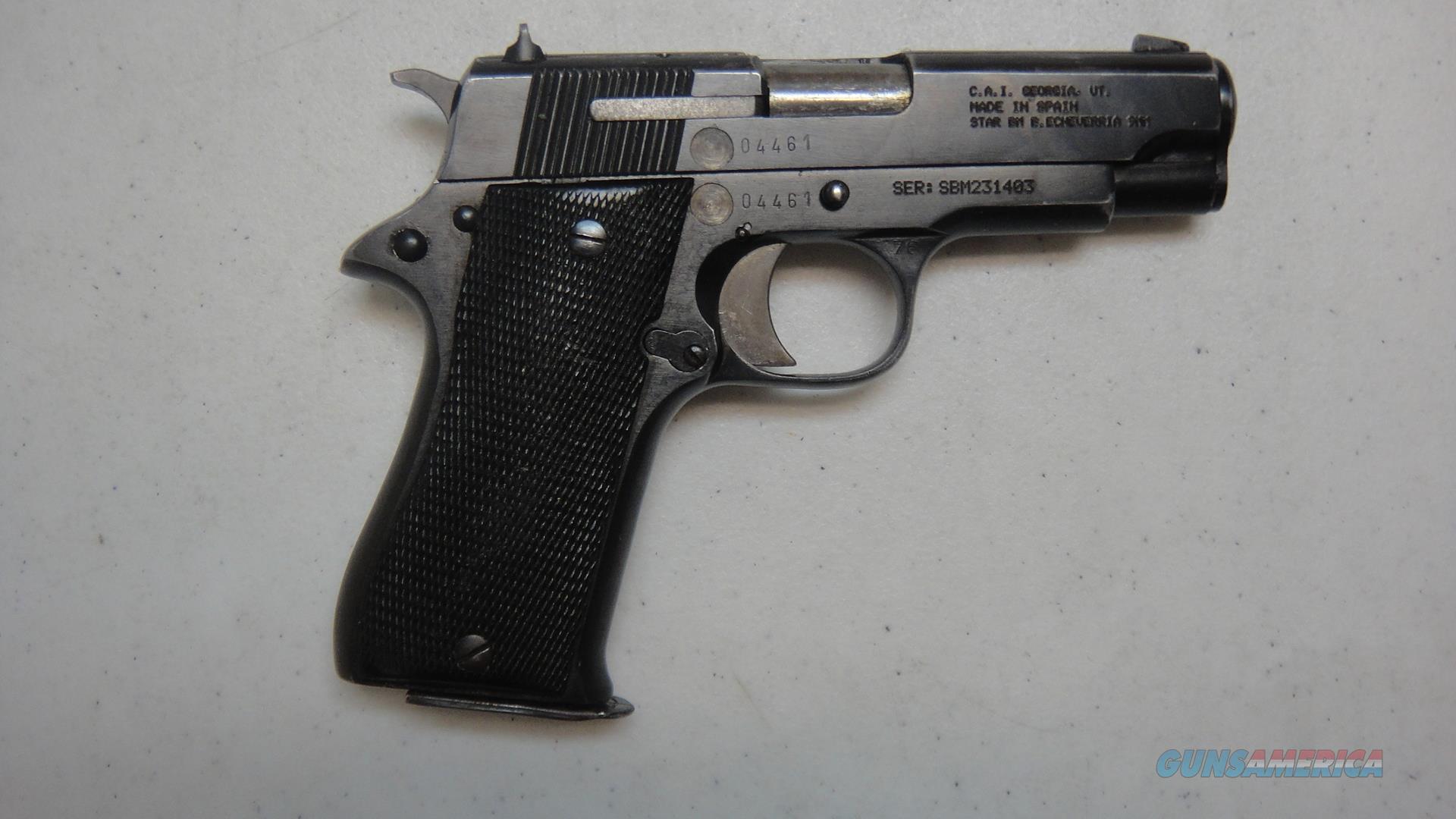 Star/CAI BM 9  Guns > Pistols > Star Pistols