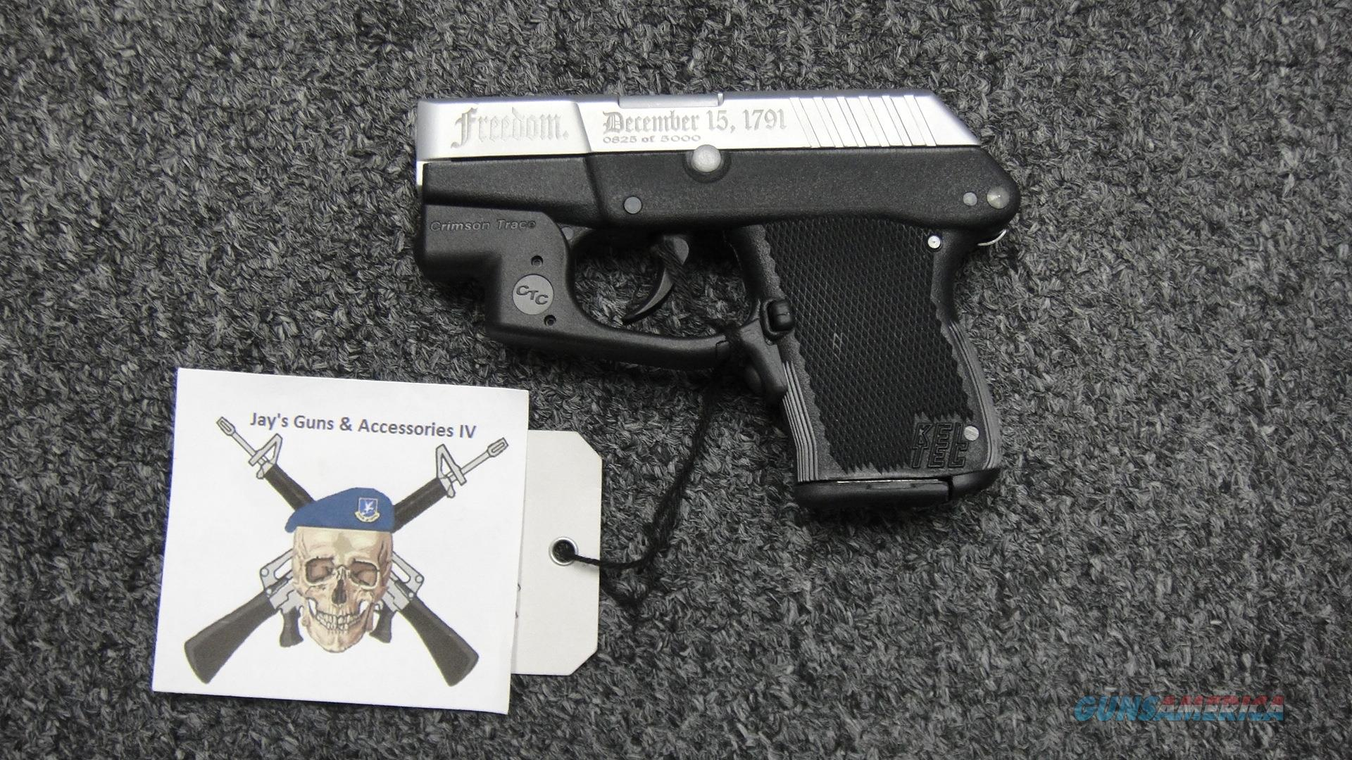 "Kel-Tec P3AT .380ACP w/ CTC Laser--Special Edition ""Freedom Model"" #825  Guns > Pistols > Kel-Tec Pistols > Pocket Pistol Type"