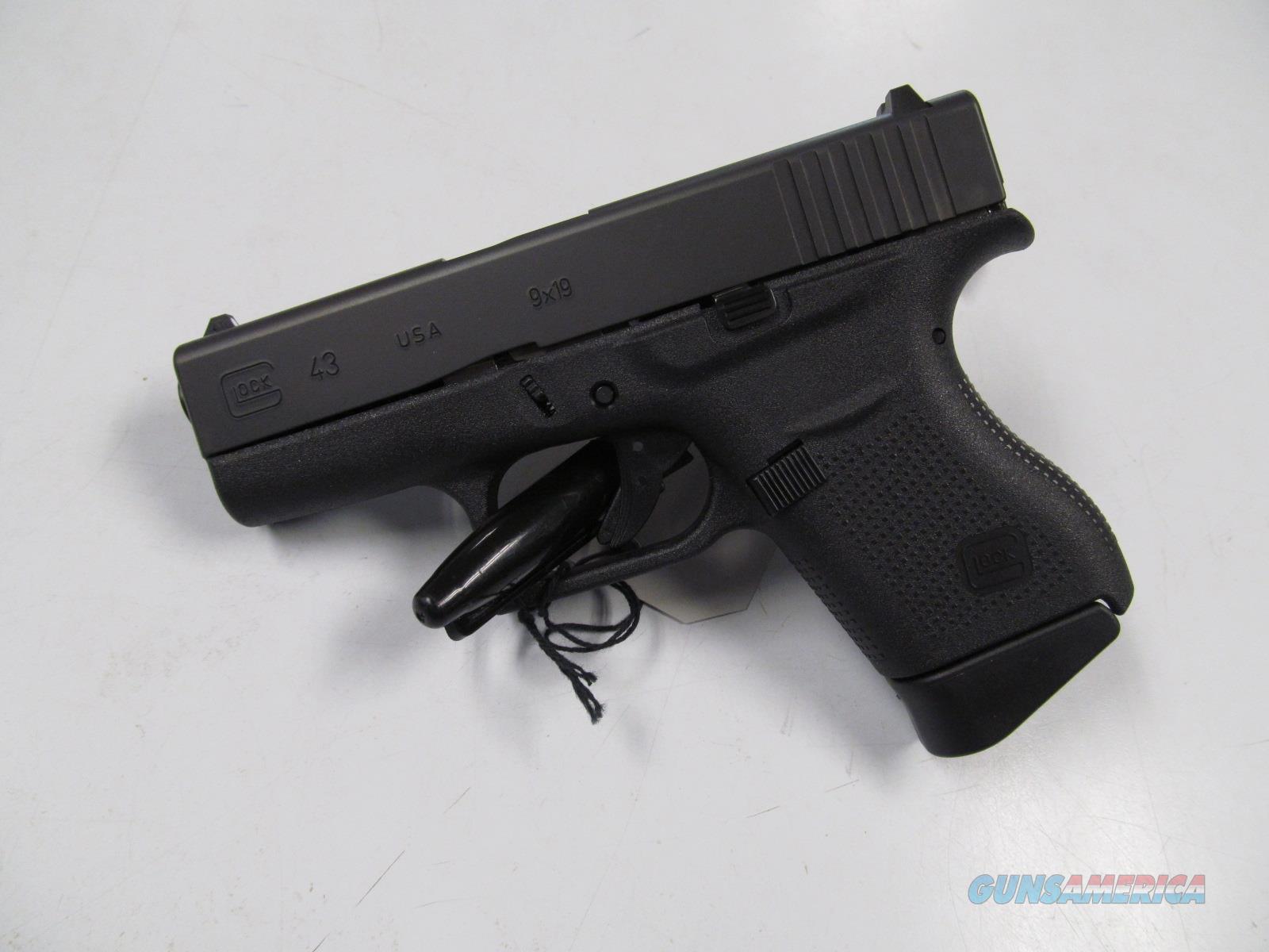 Glock 43 (UI4350201)  Guns > Pistols > Glock Pistols > 43/43X