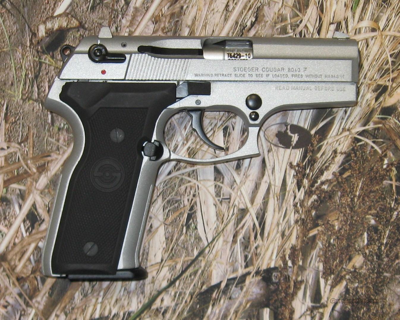 Stoeger cougar 8040f 40s amp w guns gt pistols gt s misc pistols