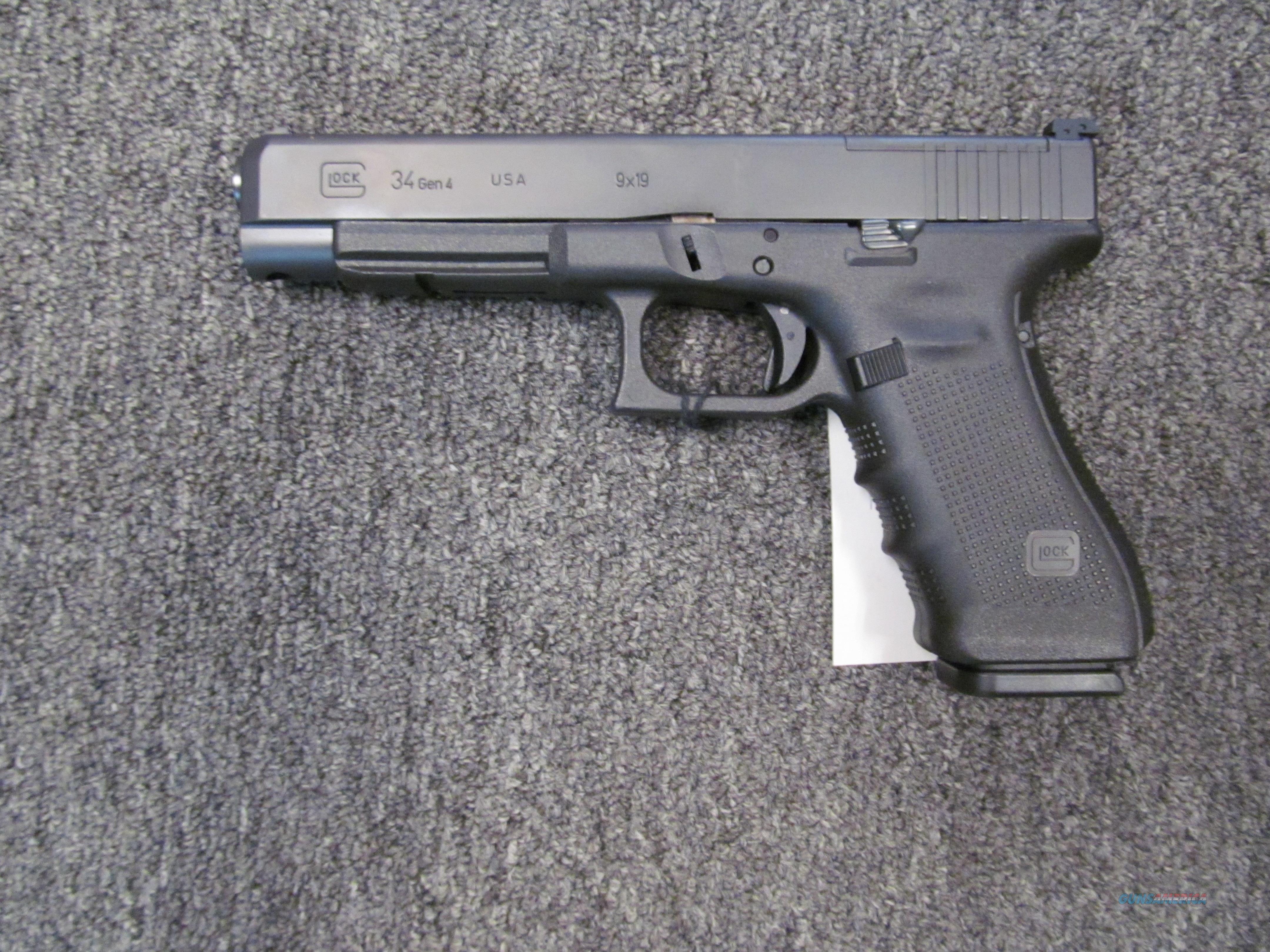 Glock 34 gen 4 MOS  Guns > Pistols > Glock Pistols > 34