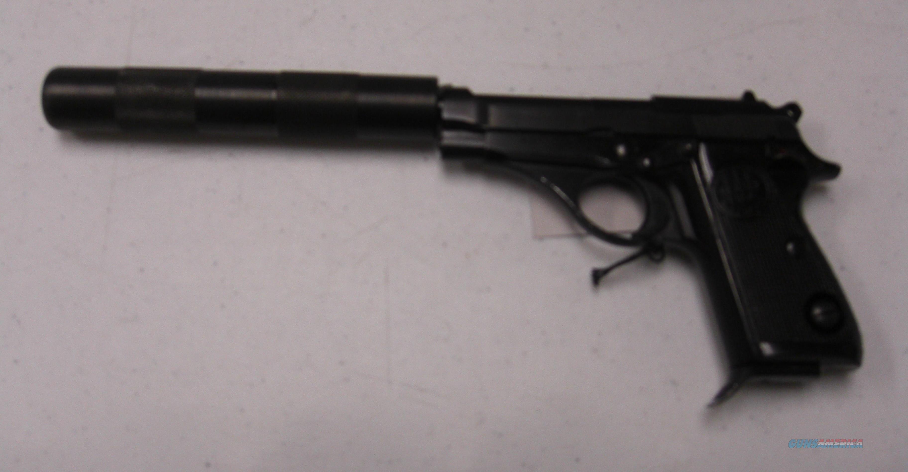 Beretta 71 Jaguar w/ fake suppressor  Guns > Pistols > Beretta Pistols > Rare & Collectible