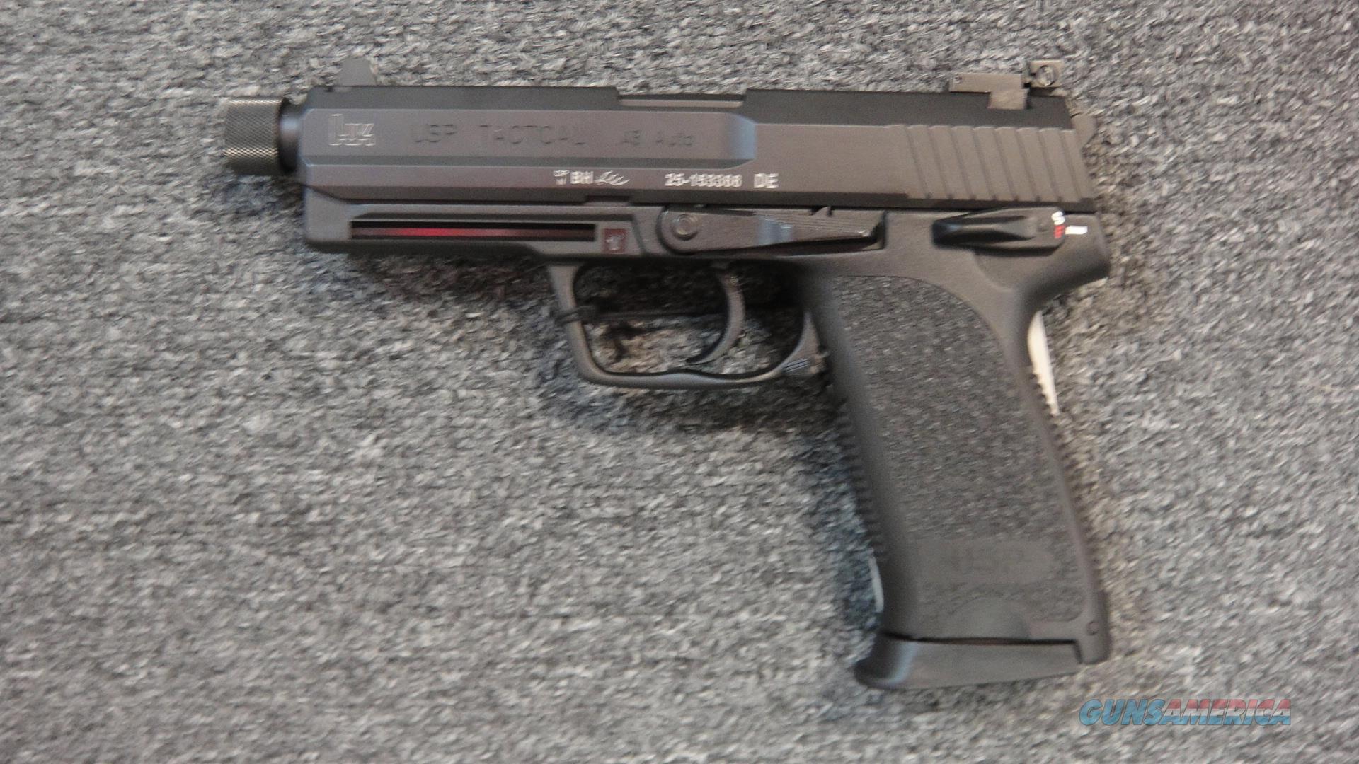 Heckler & Koch USP 45 Tactical w/ Night Sights  Guns > Pistols > Heckler & Koch Pistols > Polymer Frame