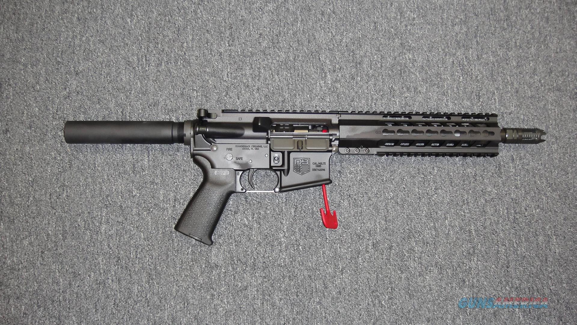 Diamondback DB15 pistol 7.62x39  Guns > Pistols > Diamondback Pistols