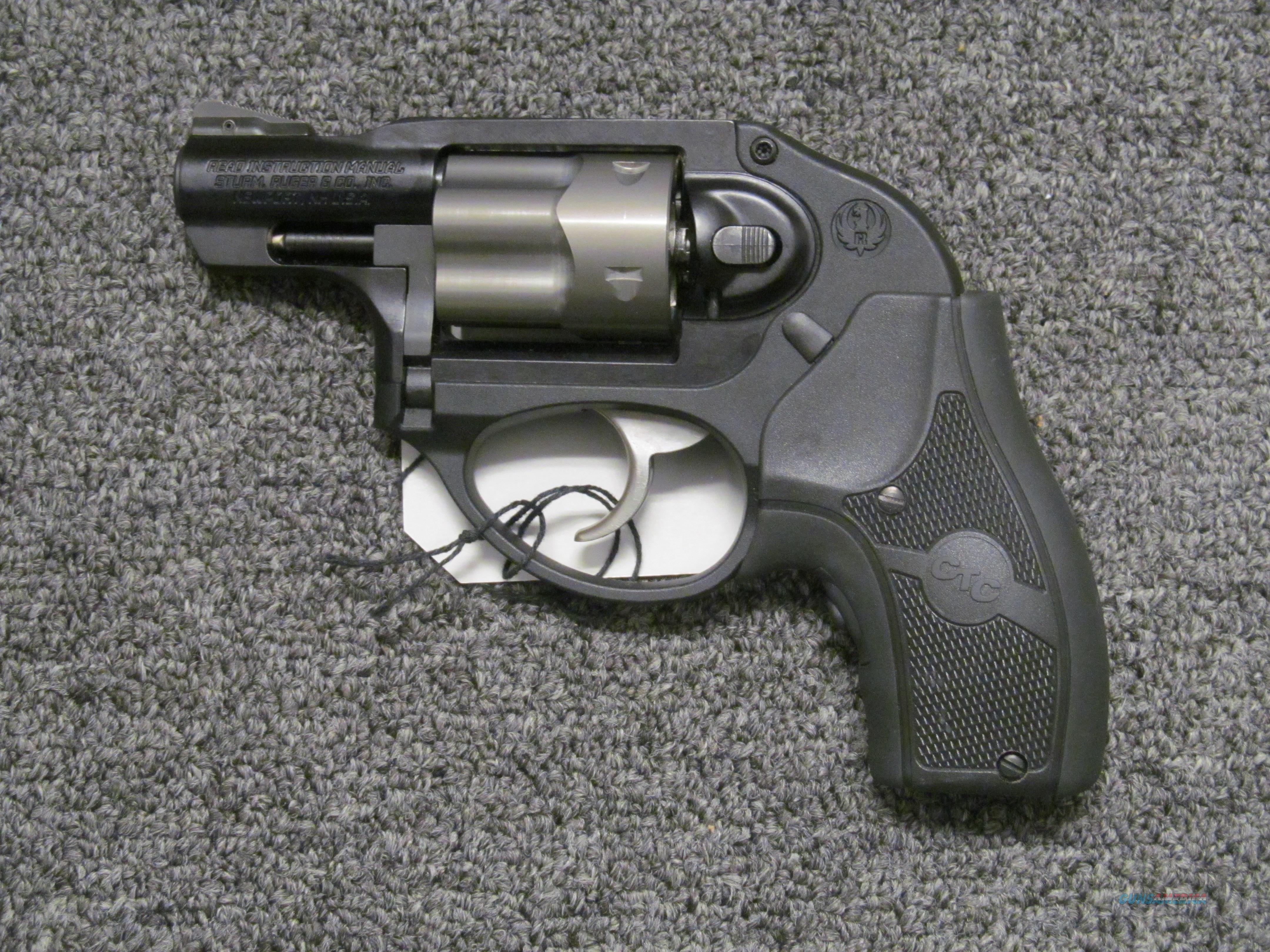 Ruger LCR .38 Spl with Crimson Trace laser Grips  Guns > Pistols > Ruger Double Action Revolver > LCR