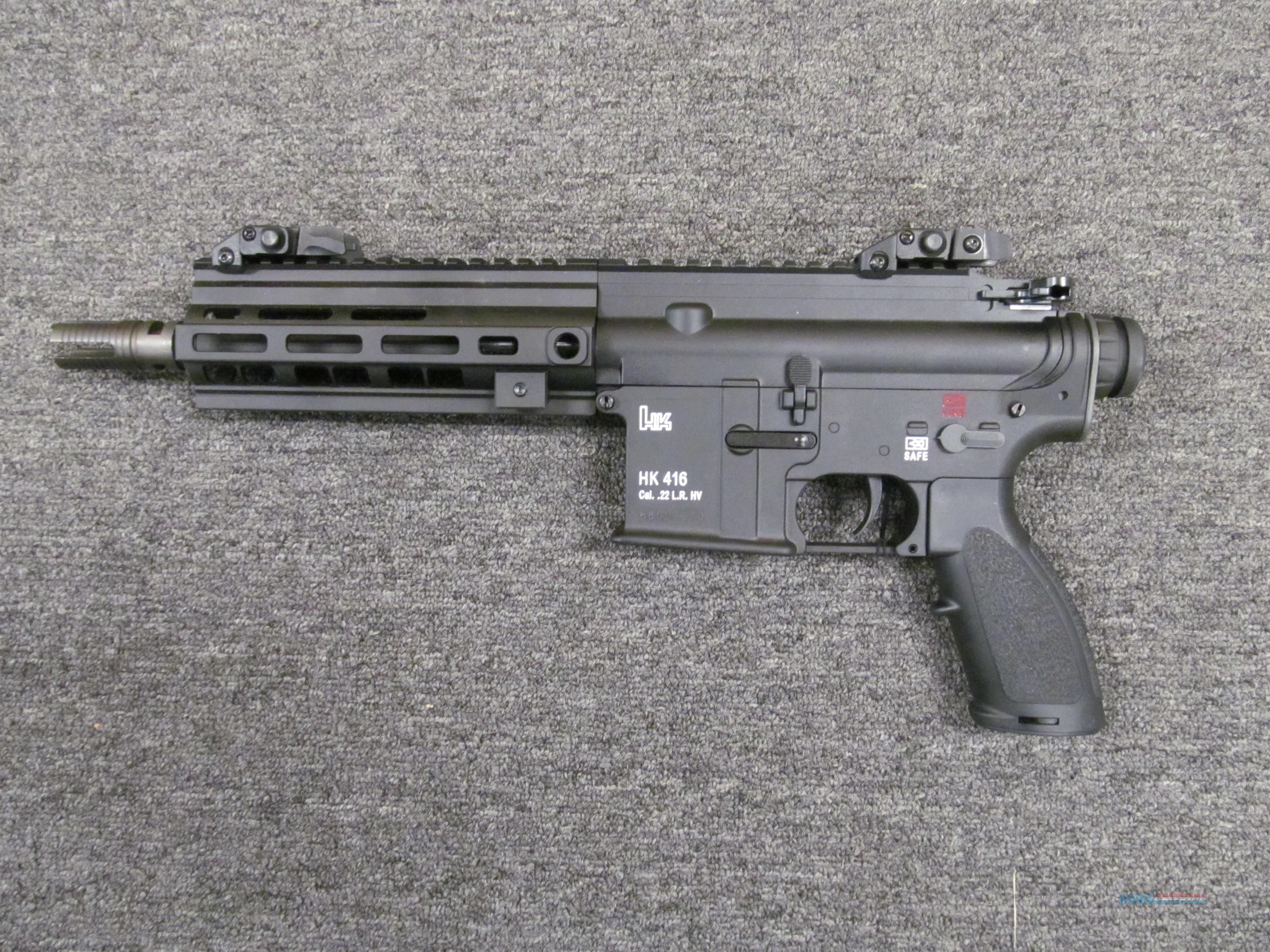 Heckler & Koch HK416 (5770601)  Guns > Pistols > Heckler & Koch Pistols > Polymer Frame