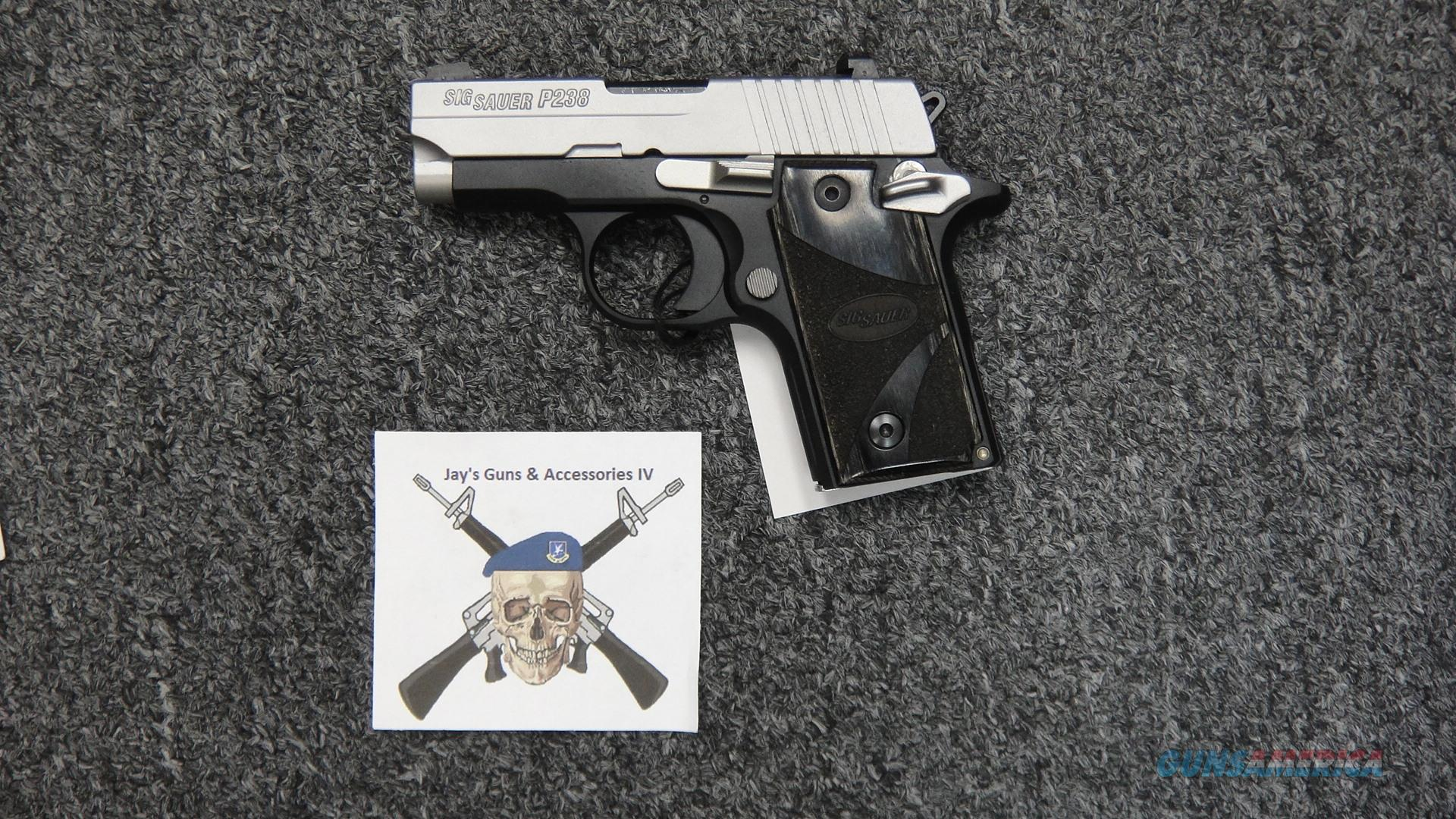 Sig Sauer P238 Blackwood  Guns > Pistols > Sig - Sauer/Sigarms Pistols > P238