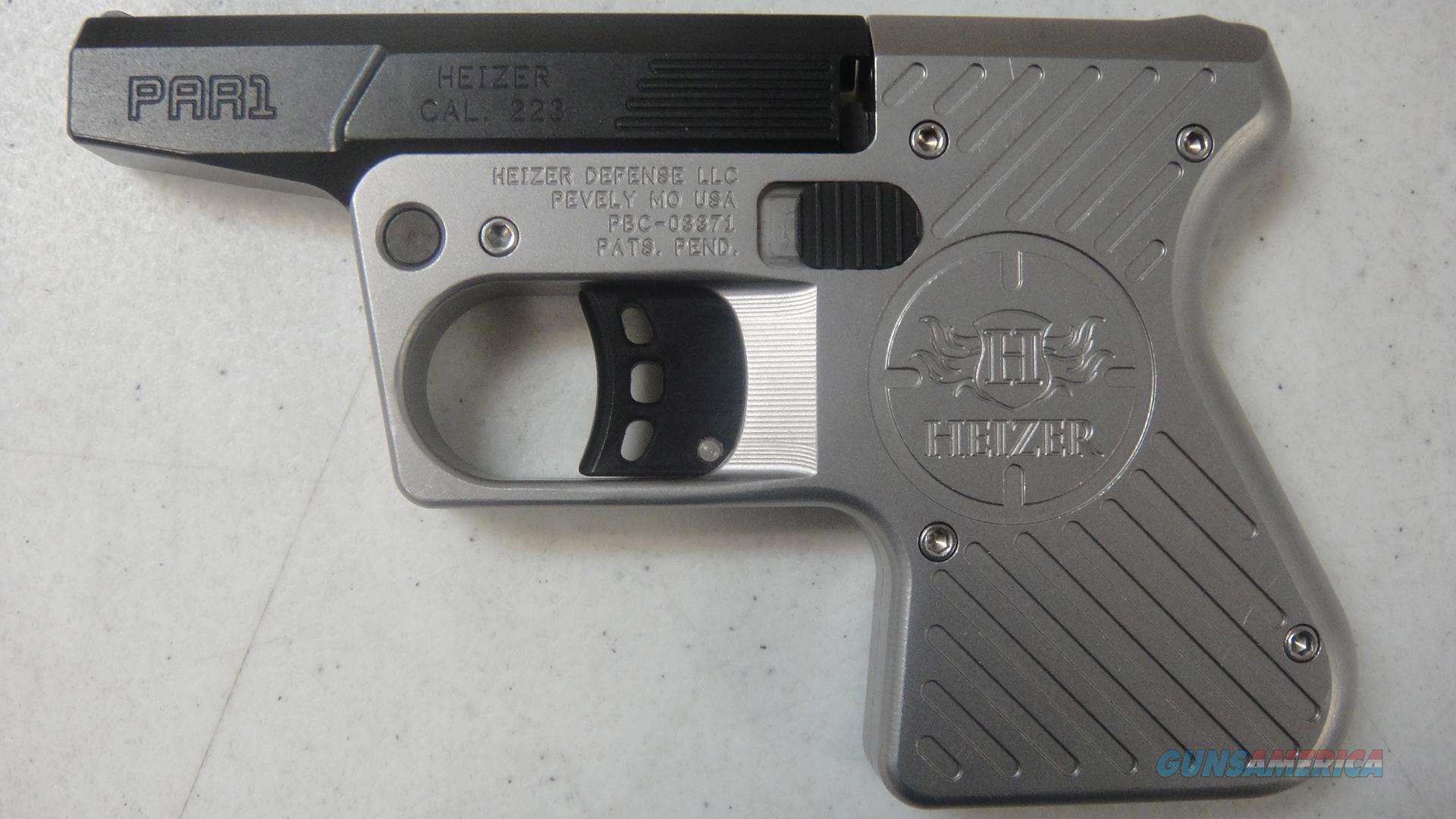 Heizer Defense PAR1  Guns > Pistols > H Misc Pistols