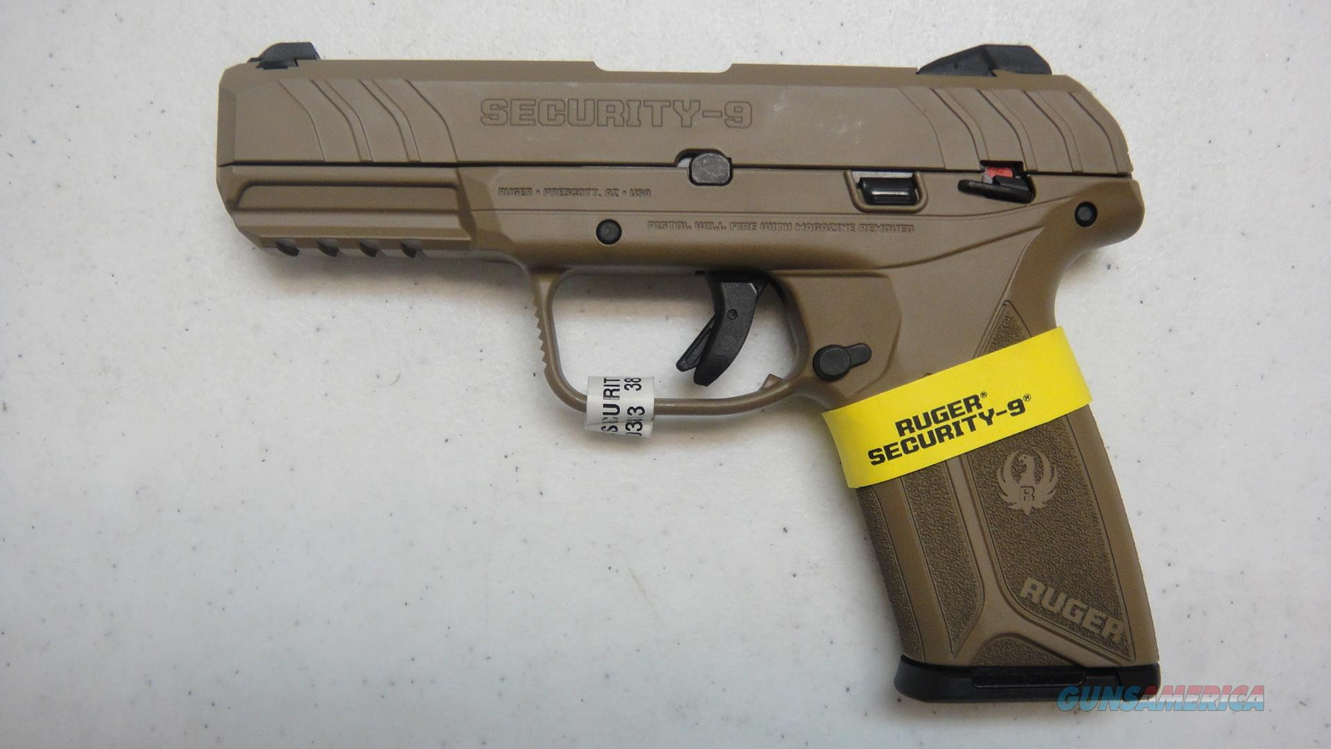 Ruger Security 9 w/ FDE finish.  Guns > Pistols > Ruger Semi-Auto Pistols > Security 9