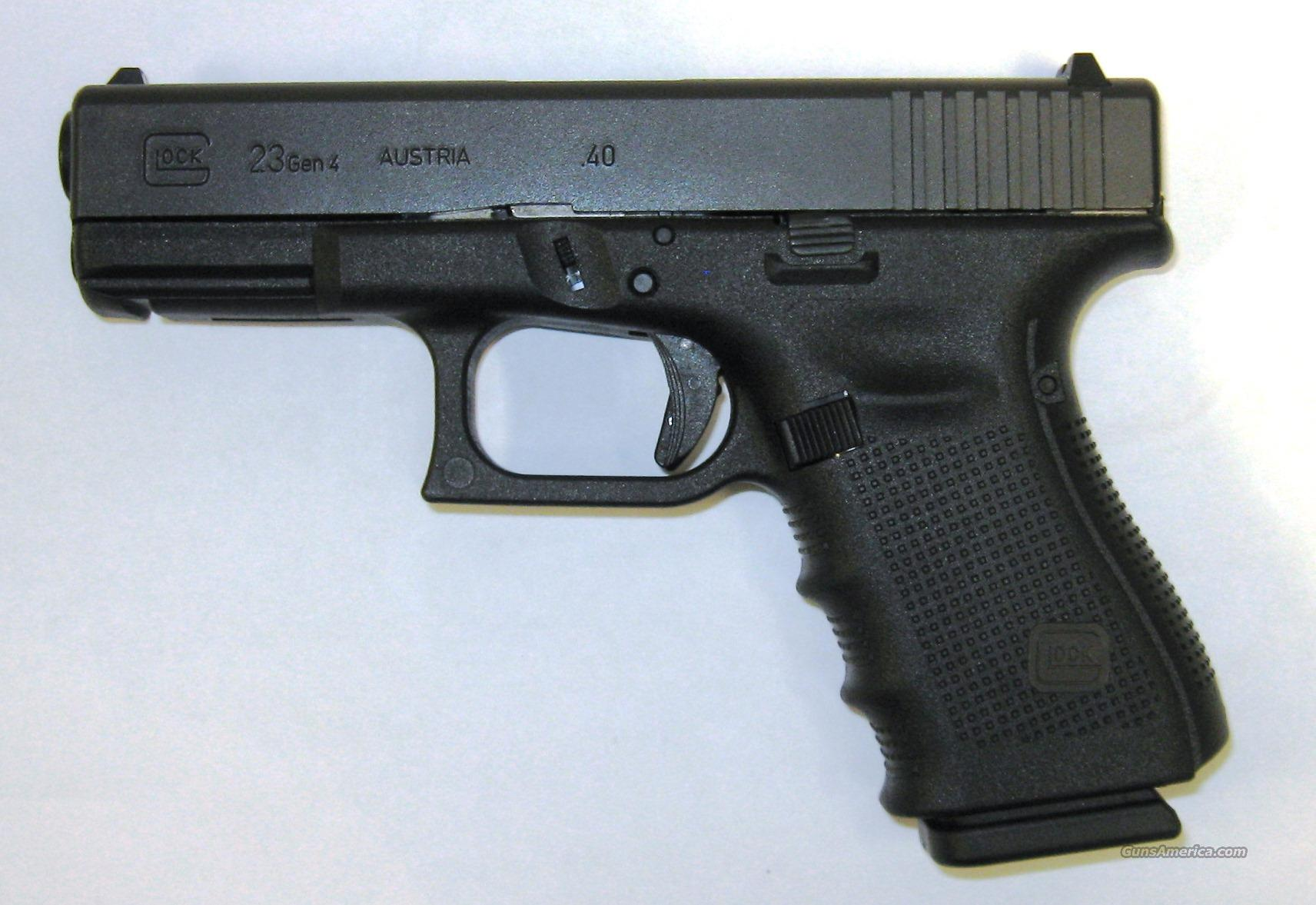 Glock 23 Gen 4  Guns > Pistols > Glock Pistols > 23