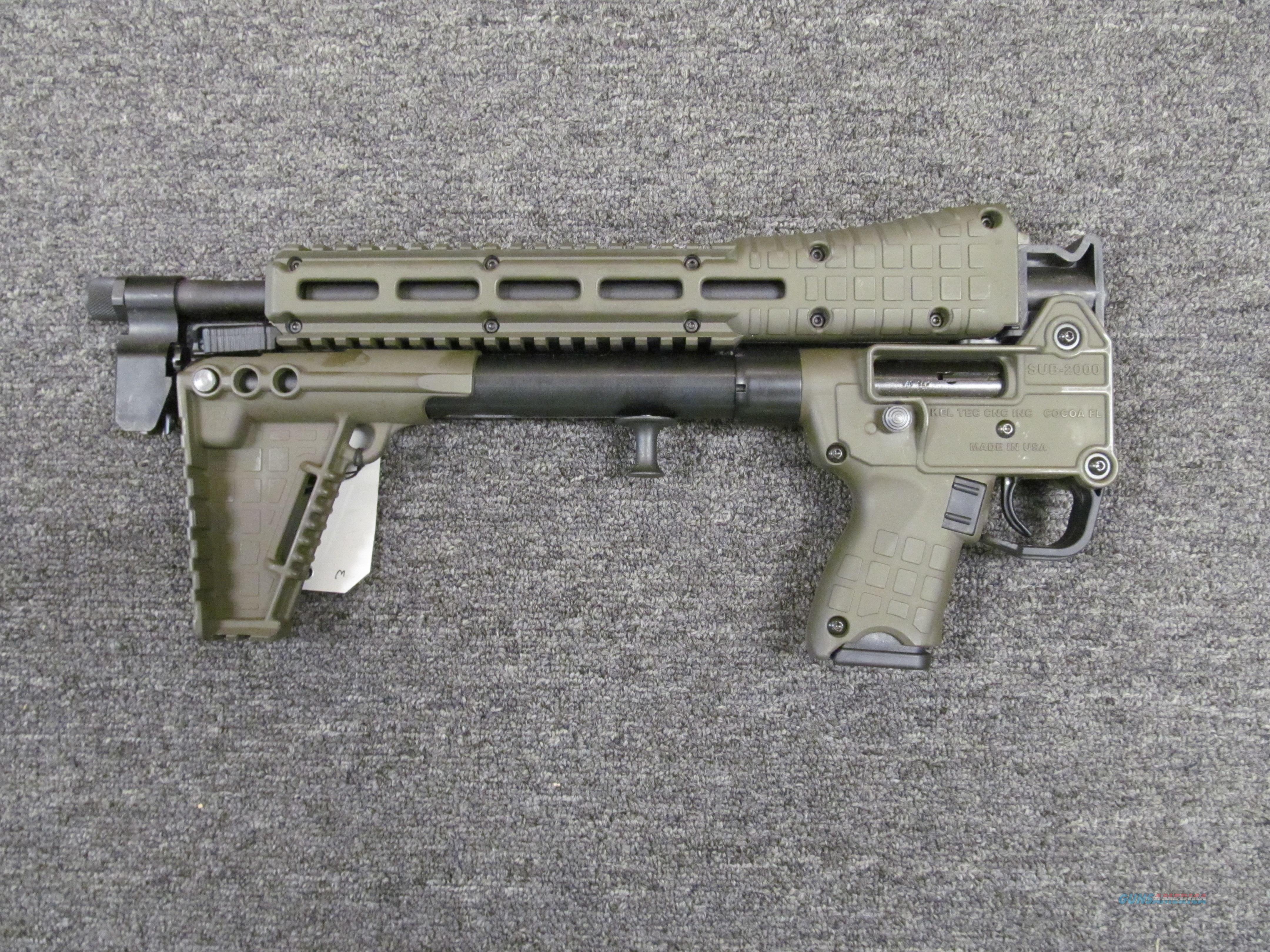 Kel-Tec Sub-2000 Gen 2 (SUB-2K40-GLK23)  Guns > Rifles > Kel-Tec Rifles