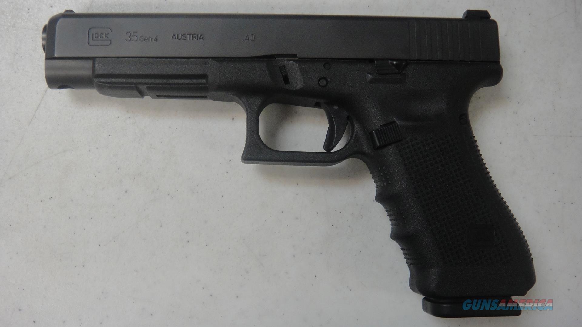 Glock 35 Gen 4  Guns > Pistols > Glock Pistols > 35