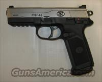 FNH FNP-45 Stainless w/ Nightsights  FNH - Fabrique Nationale (FN) Pistols > FNP