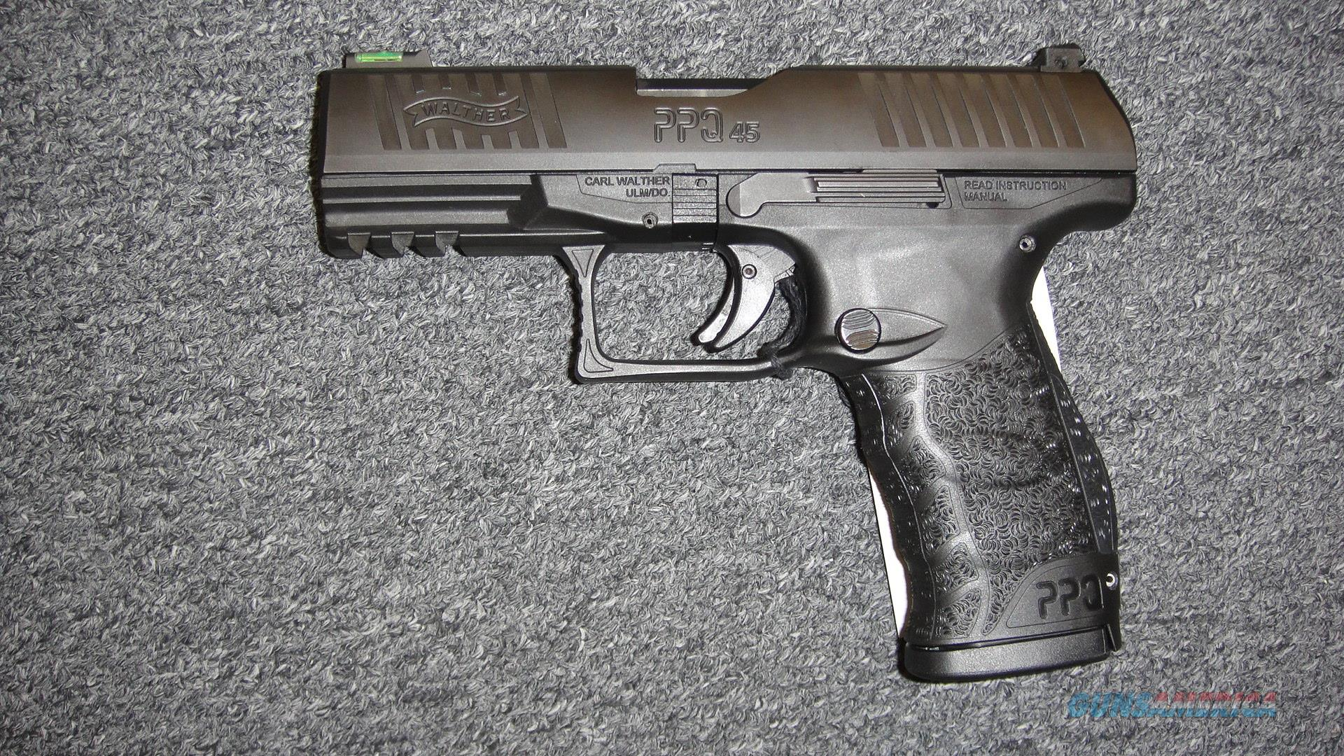 Walther PPQ M2 .45ACP (As New)  Guns > Pistols > Walther Pistols > Post WWII > P99/PPQ