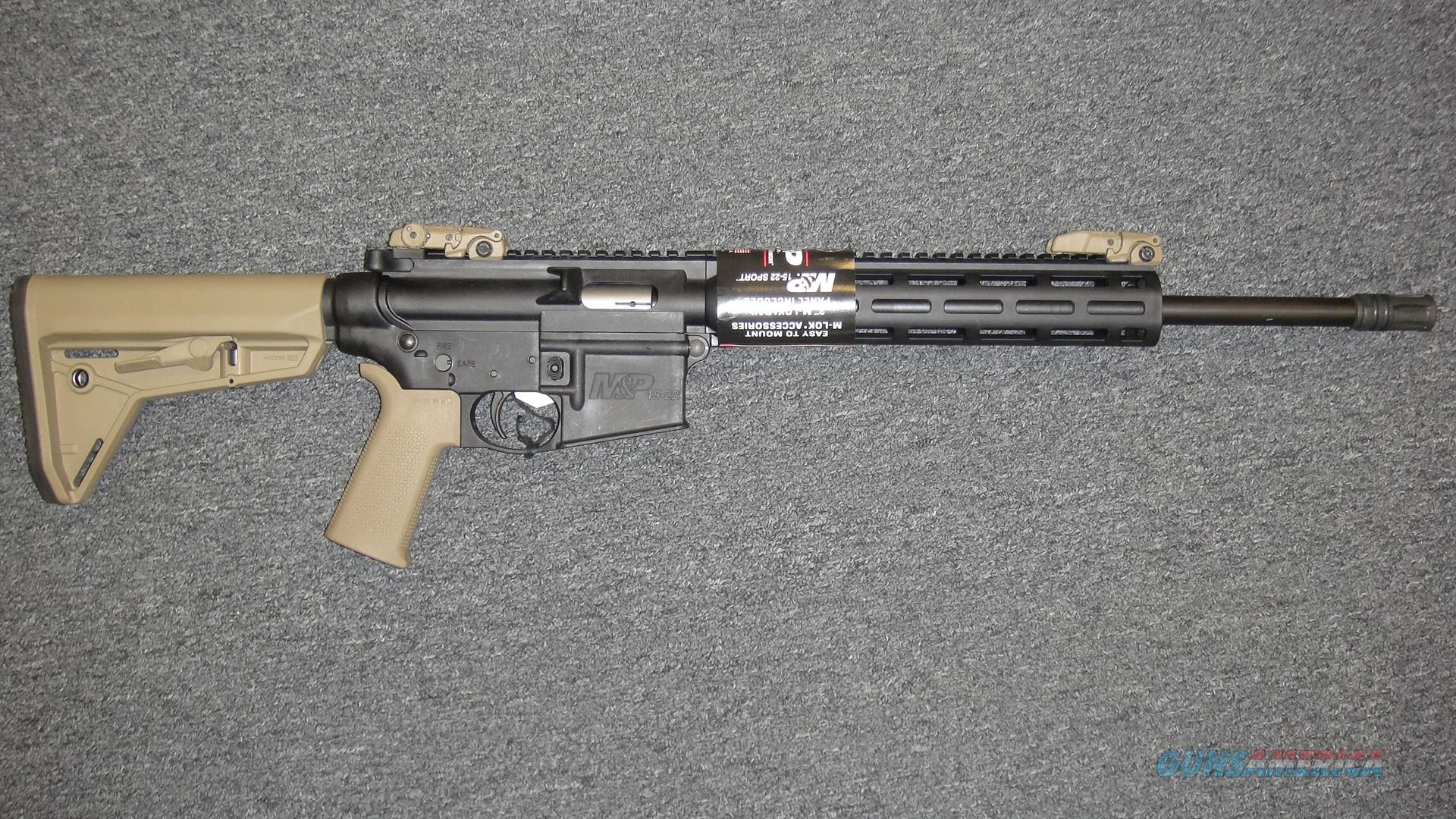Smith & Wesson M&P15-22 Sport  Guns > Rifles > Smith & Wesson Rifles > M&P