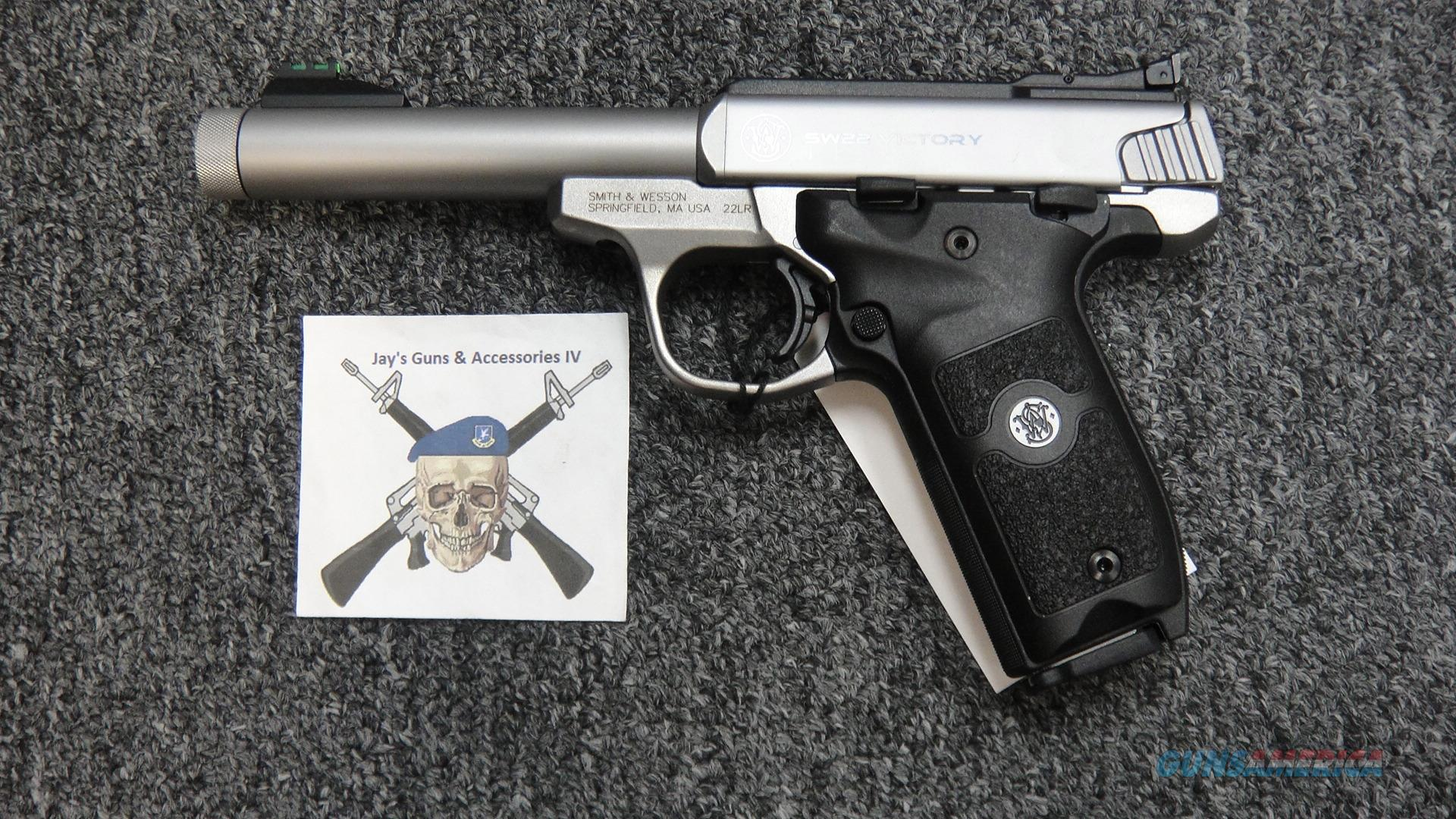 Smith & Wesson SW22 Victory w/Staniless Finish (108490)  Guns > Pistols > Smith & Wesson Pistols - Autos > .22 Autos